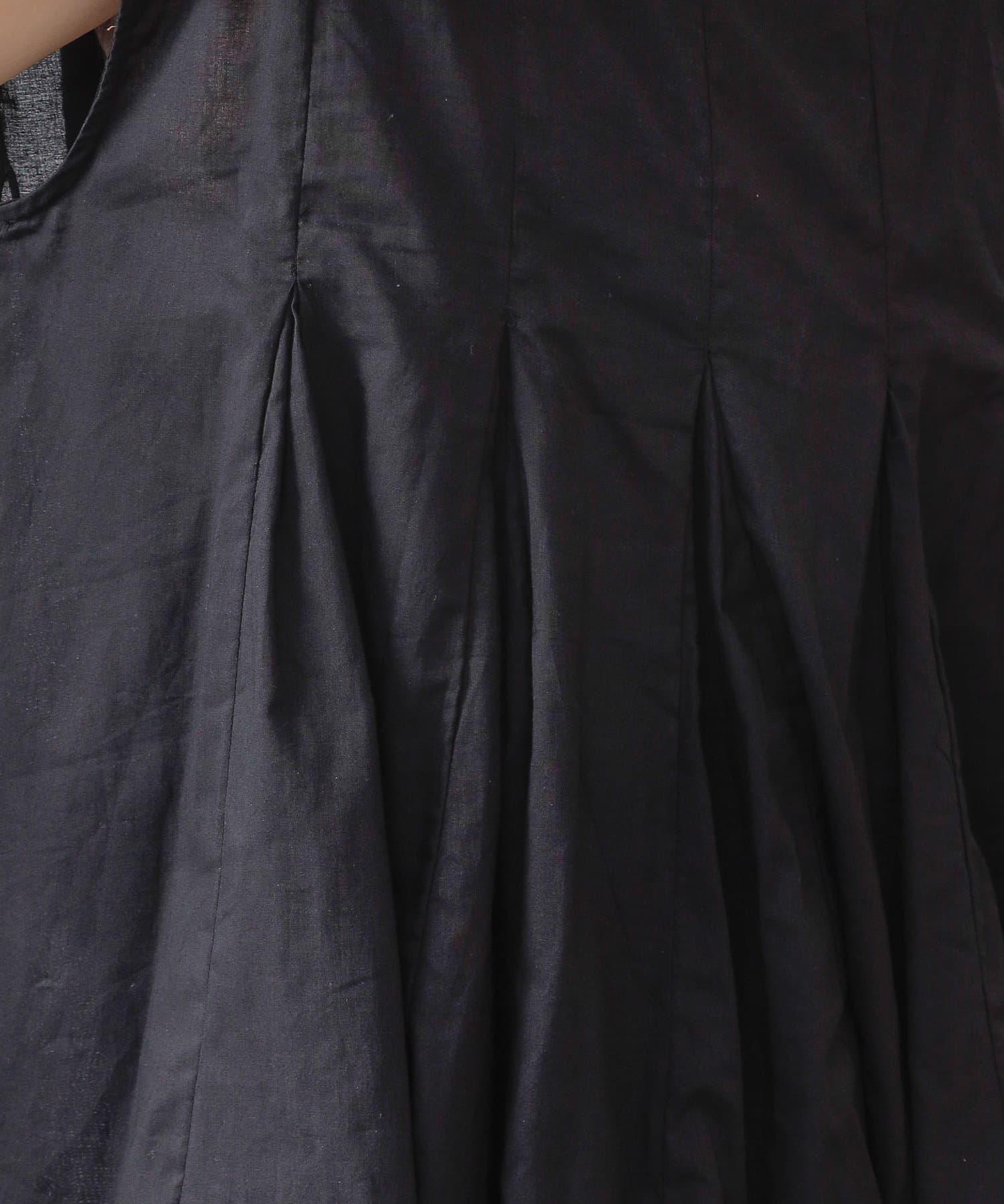 COLONY 2139(コロニー トゥーワンスリーナイン) 【WEB・一部店舗限定】コットン切替Aラインノースリーブチュニック