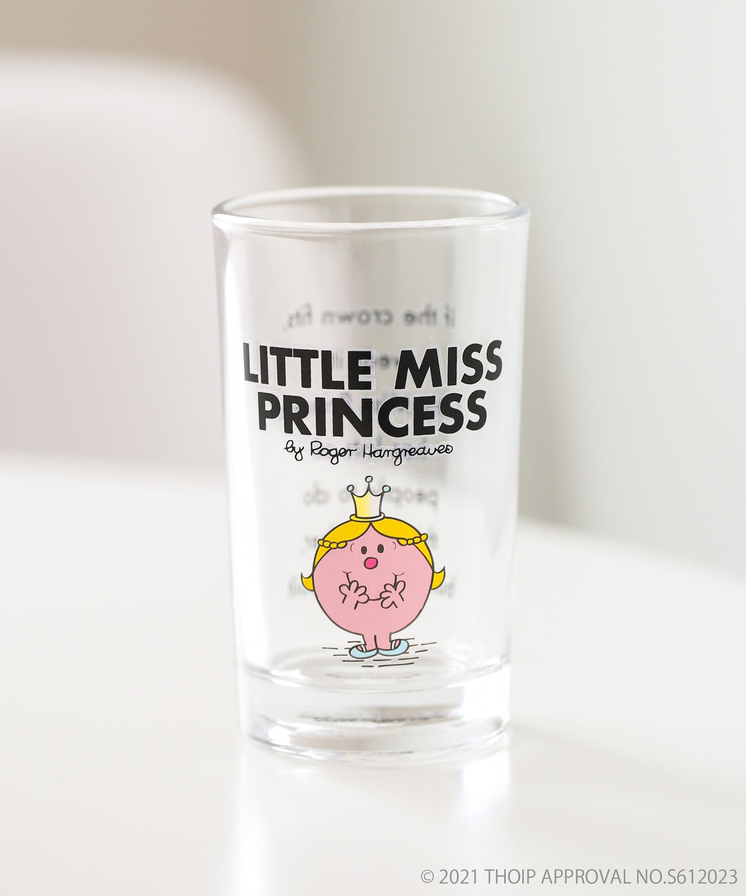 ASOKO(アソコ) 【MR. MEN LITTLE MISS】グラス