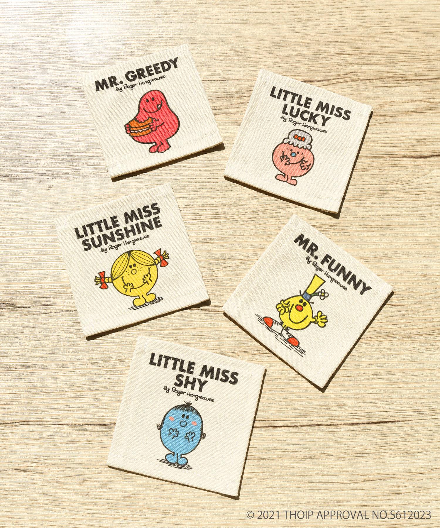 ASOKO(アソコ) 【MR. MEN LITTLE MISS】コースター5枚セット