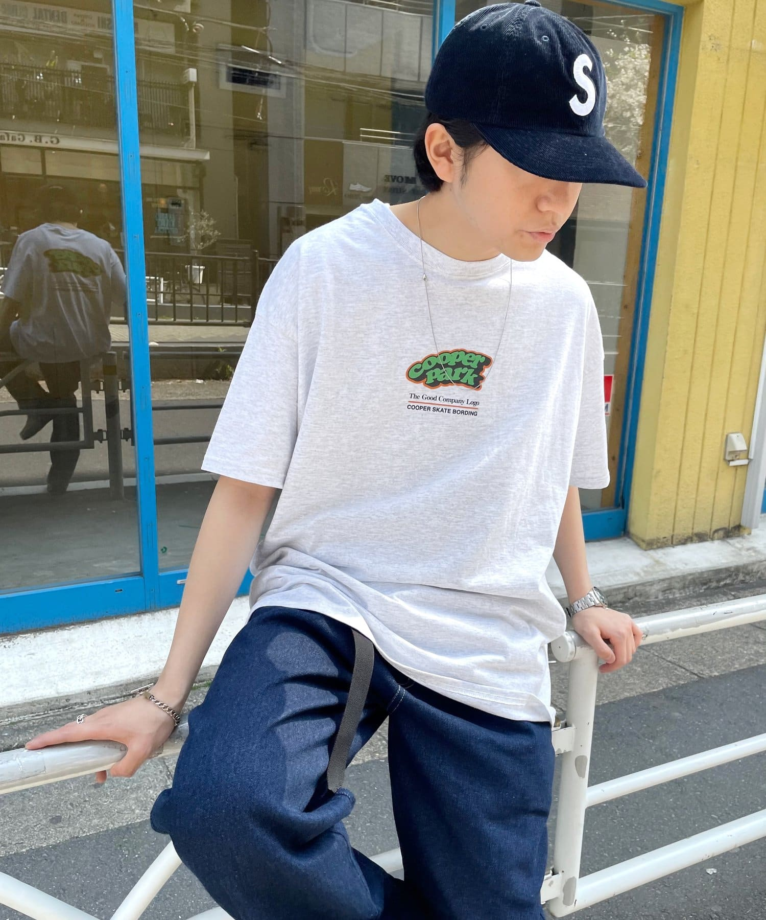 WHO'S WHO gallery(フーズフーギャラリー) COOPERPARK BIG TEE