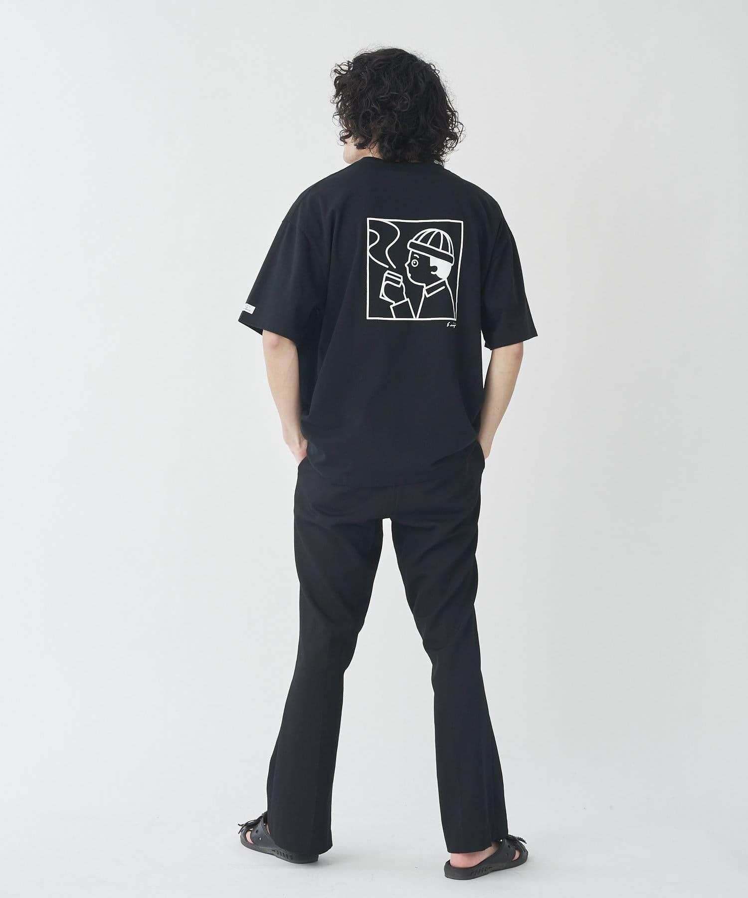 CPCM(シーピーシーエム) 【WEB限定】SEIJI MATSUMOTO×CPCM バックプリントBIGT