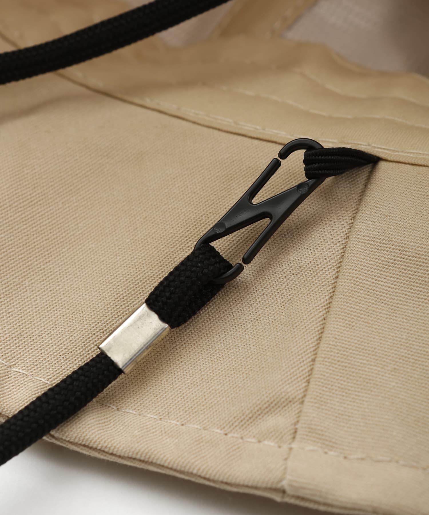 3COINS(スリーコインズ) 【小物で彩る季節の装い】ストラップ付きバケットハット