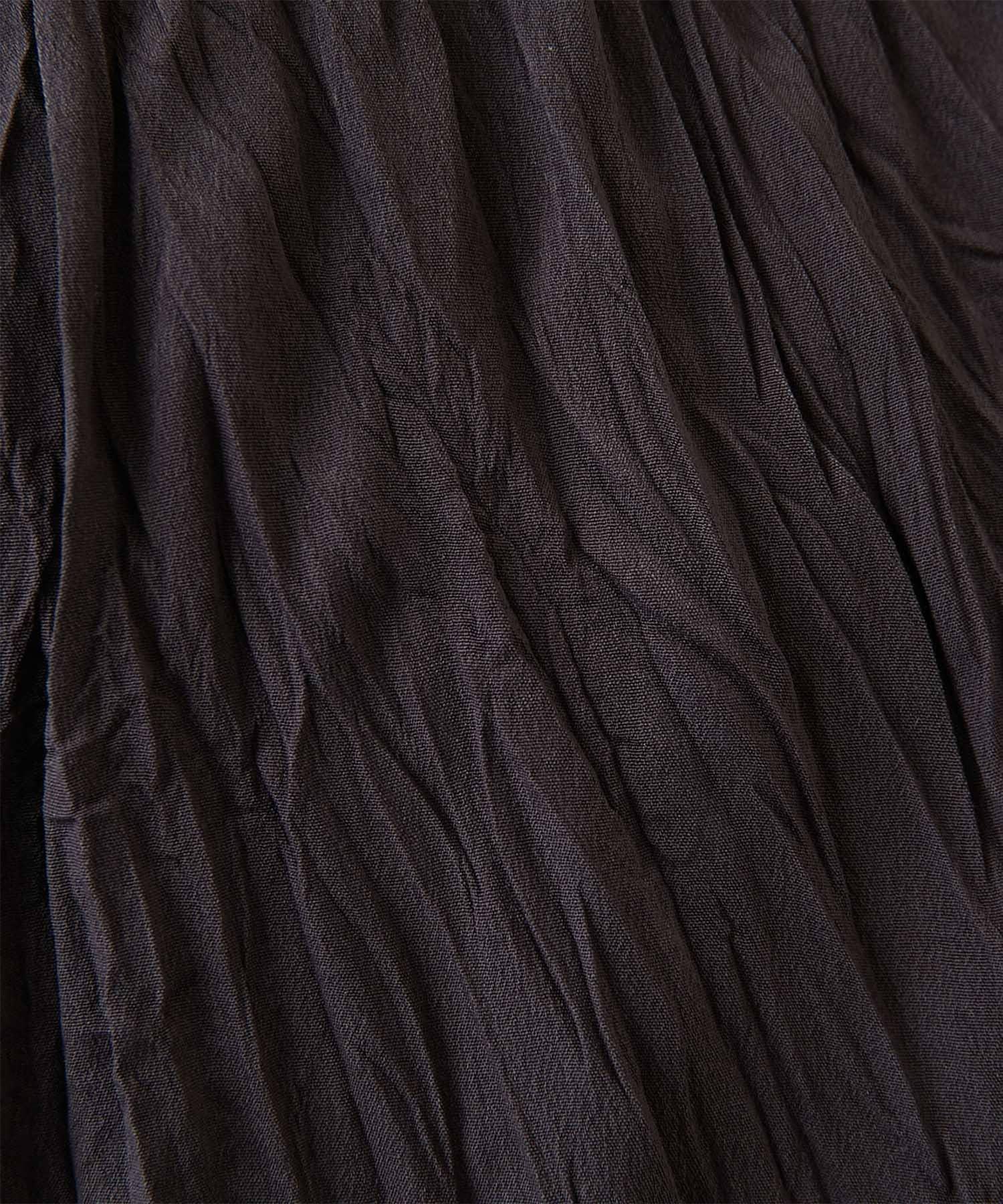 GALLARDAGALANTE(ガリャルダガランテ) ワッシャープリーツパンツ【オンラインストア限定商品】