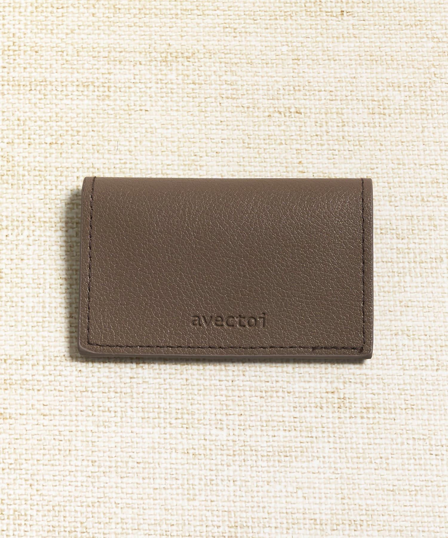 3COINS(スリーコインズ) 【ASOKO】ロゴ折りたたみパスケース