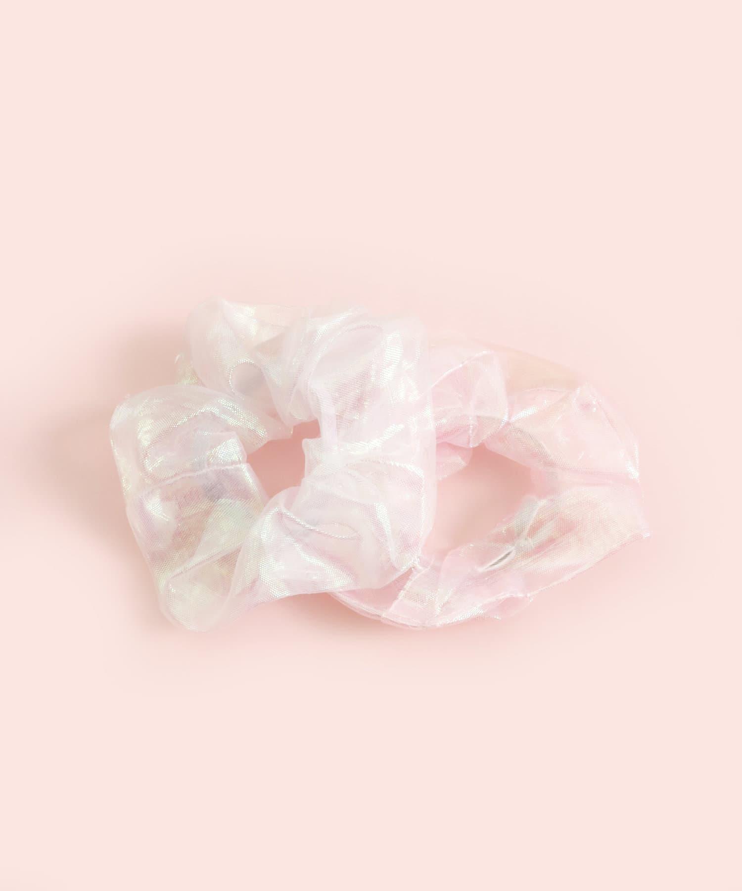 3COINS(スリーコインズ) 【ASOKO】オーロラシュシュ2個セット