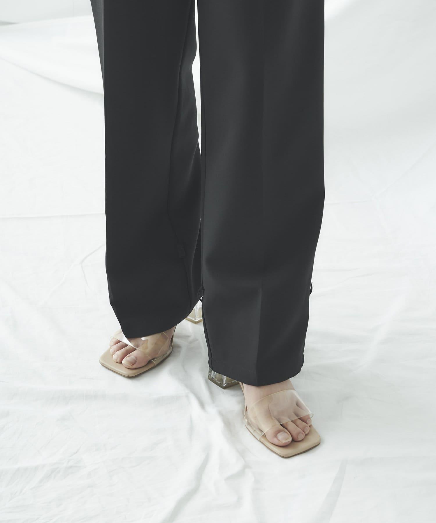 mona Belinda(モナ ベリンダ) 裾絞りデザインパンツ
