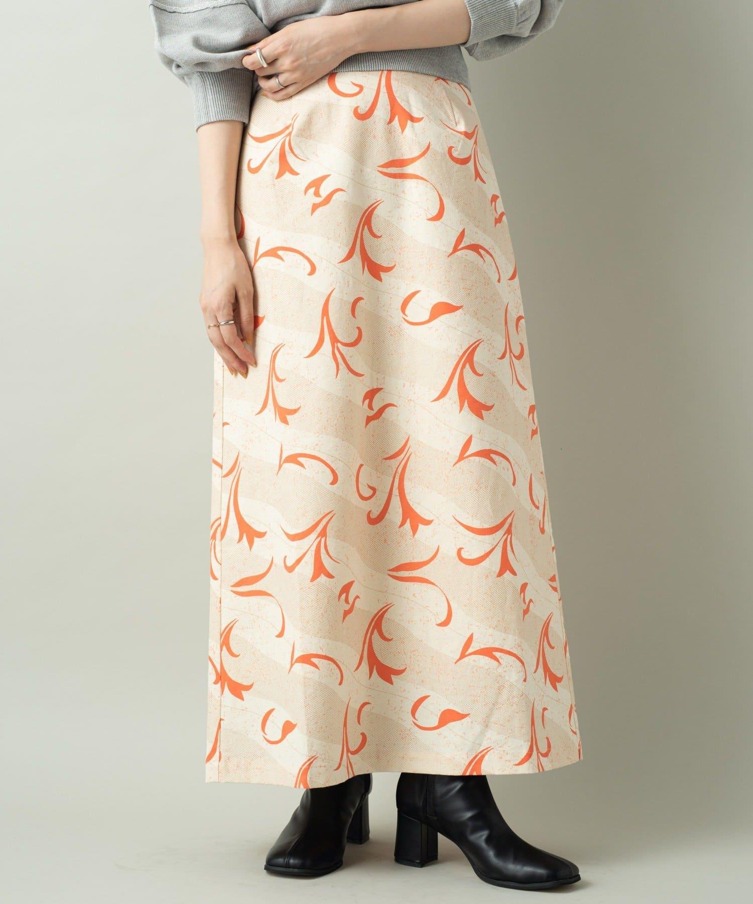 Kastane(カスタネ) mecha batik skirt