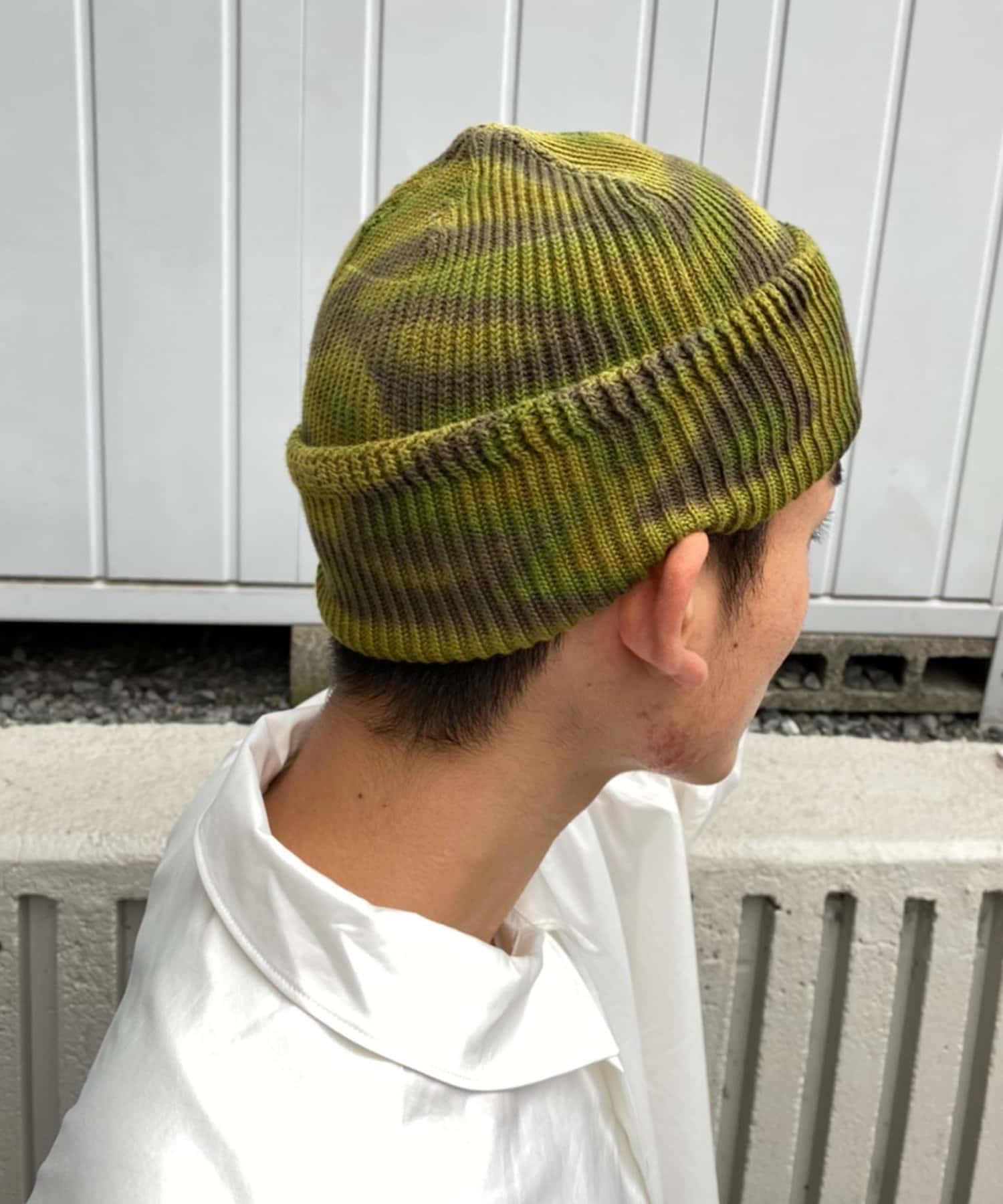 Kastane(カスタネ) 【UNISEX】WATCH CAP TIE DIE