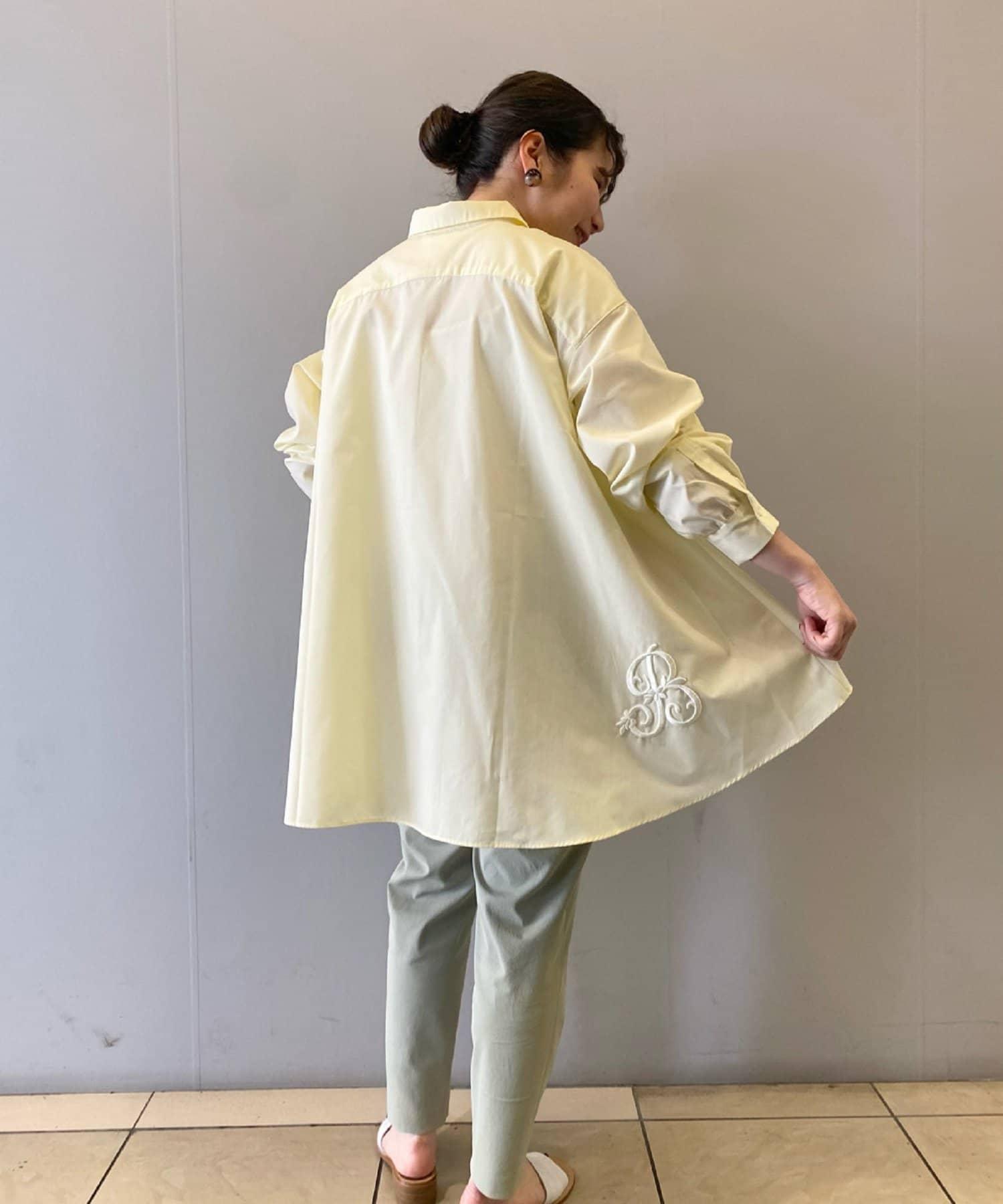 BEARDSLEY(ビアズリー) 《4/8(木)12:00 予約スタート》イニシャル刺繍シャツ