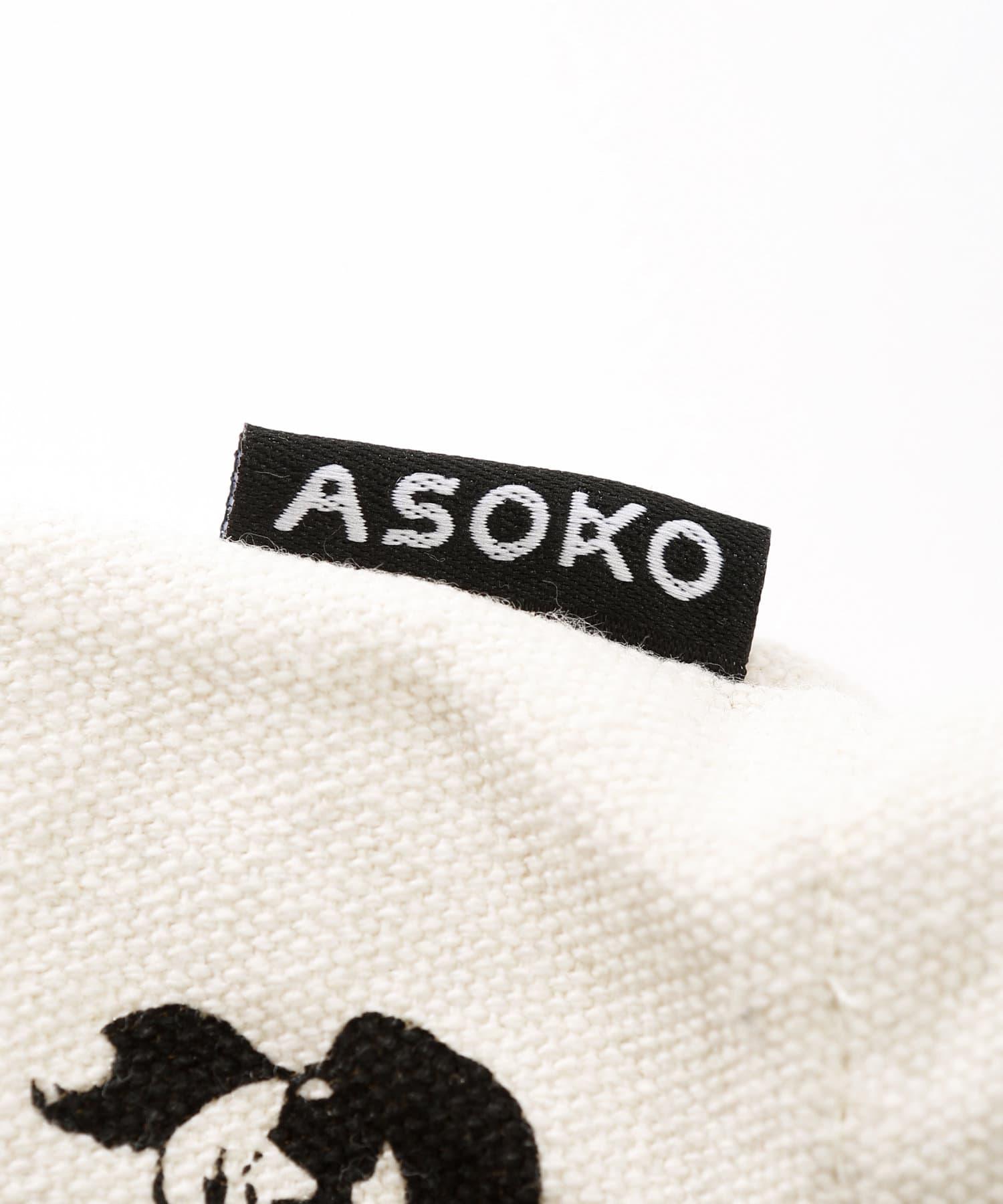3COINS(スリーコインズ) 【ASOKO】<WEB限定SALE>【ご当地】BUGGY柄トートバッグ