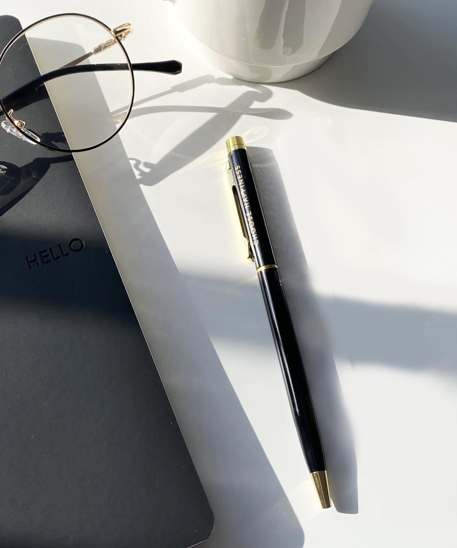 3COINS(スリーコインズ) 【ASOKO】ロゴ入りシンプルボールペン