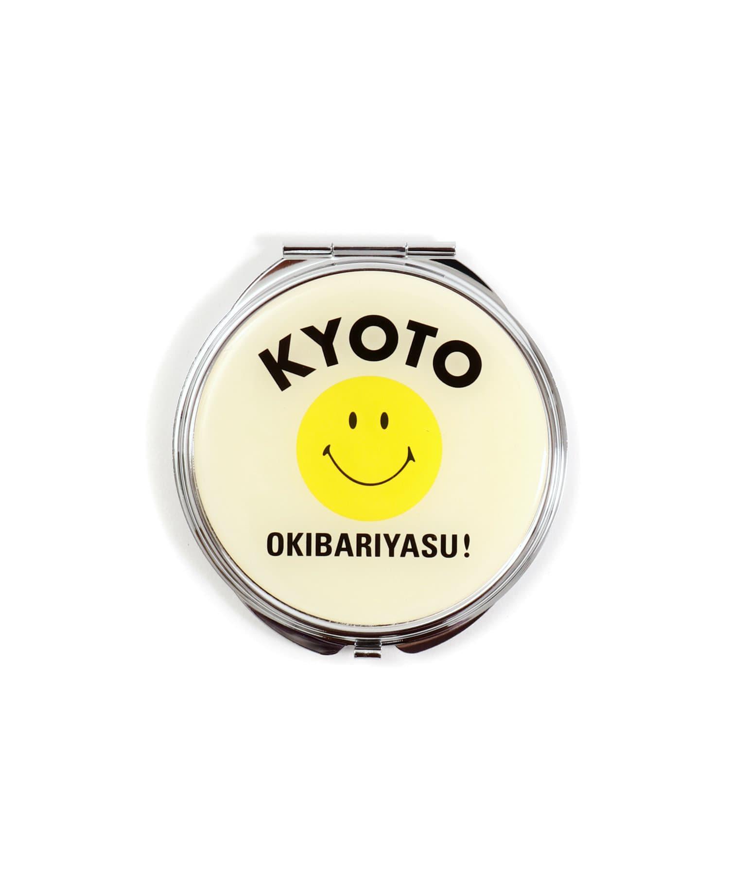 3COINS(スリーコインズ) 【ASOKO】<WEB限定SALE>【ご当地】SMILEコンパクトミラー