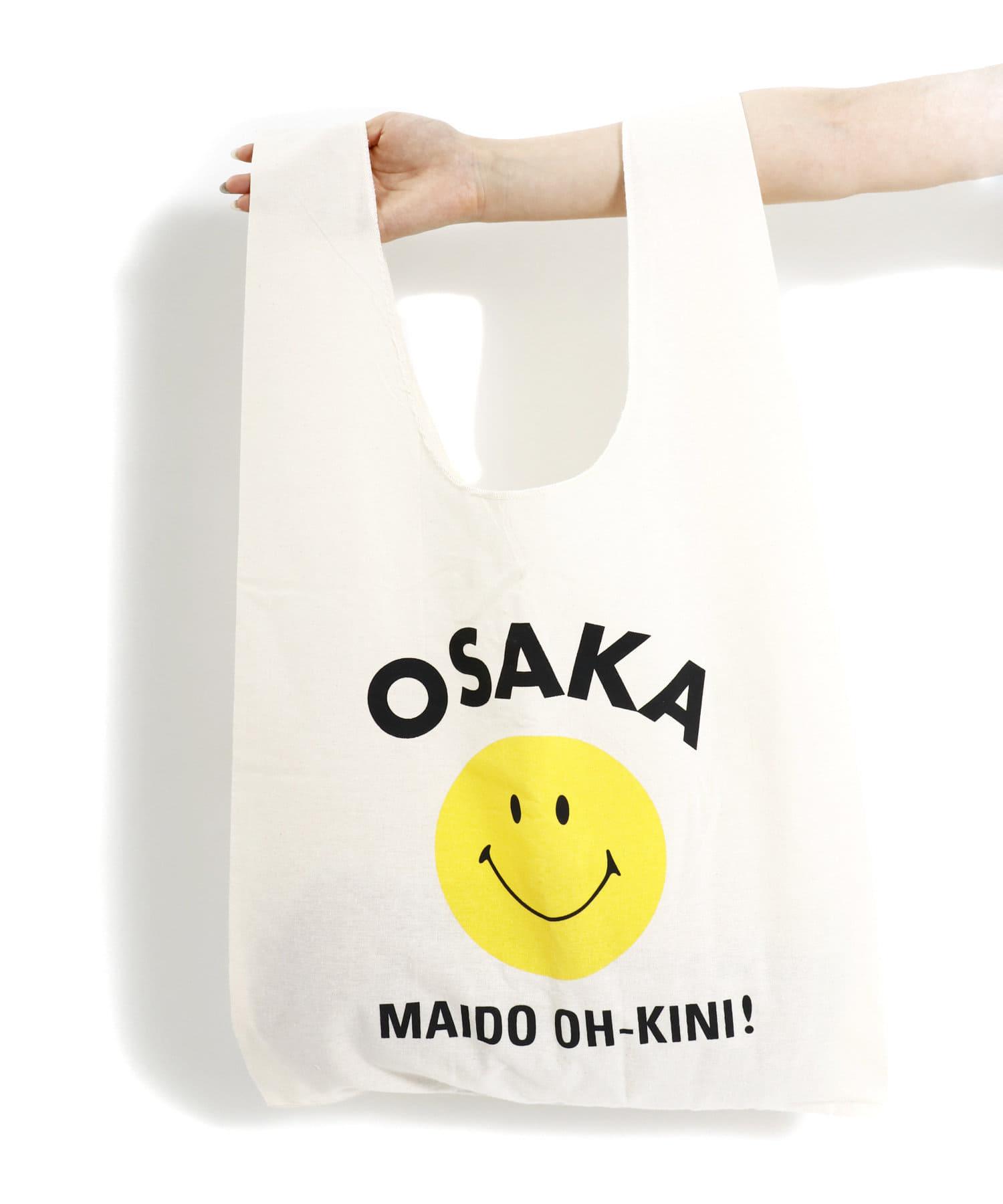 3COINS(スリーコインズ) 【ASOKO】<WEB限定SALE>【ご当地】SMILEミニマルシェバッグ