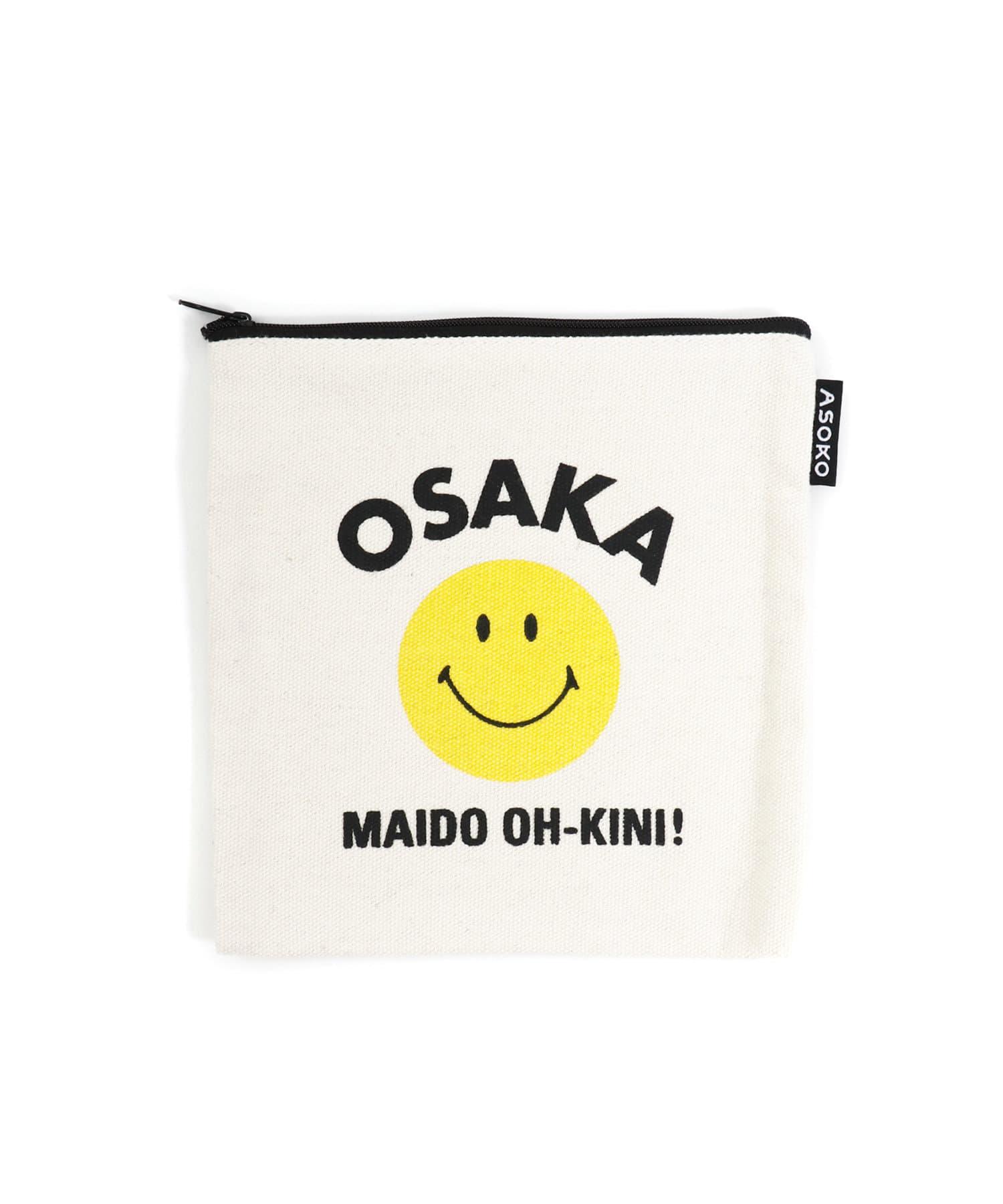 3COINS(スリーコインズ) 【ASOKO】<WEB限定SALE>【ご当地】SMILEポーチ
