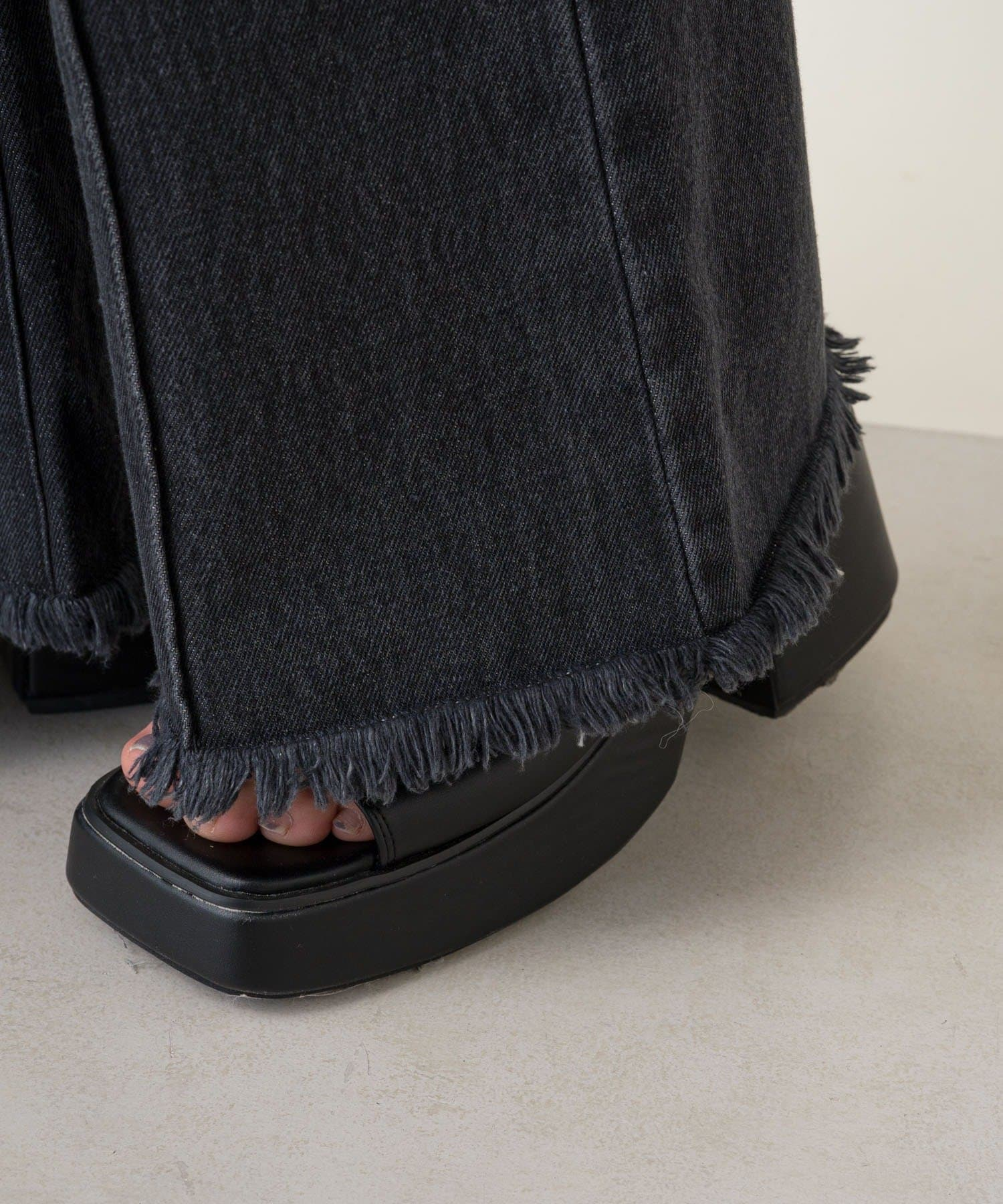Kastane(カスタネ) デニムラップスカート×パンツSET