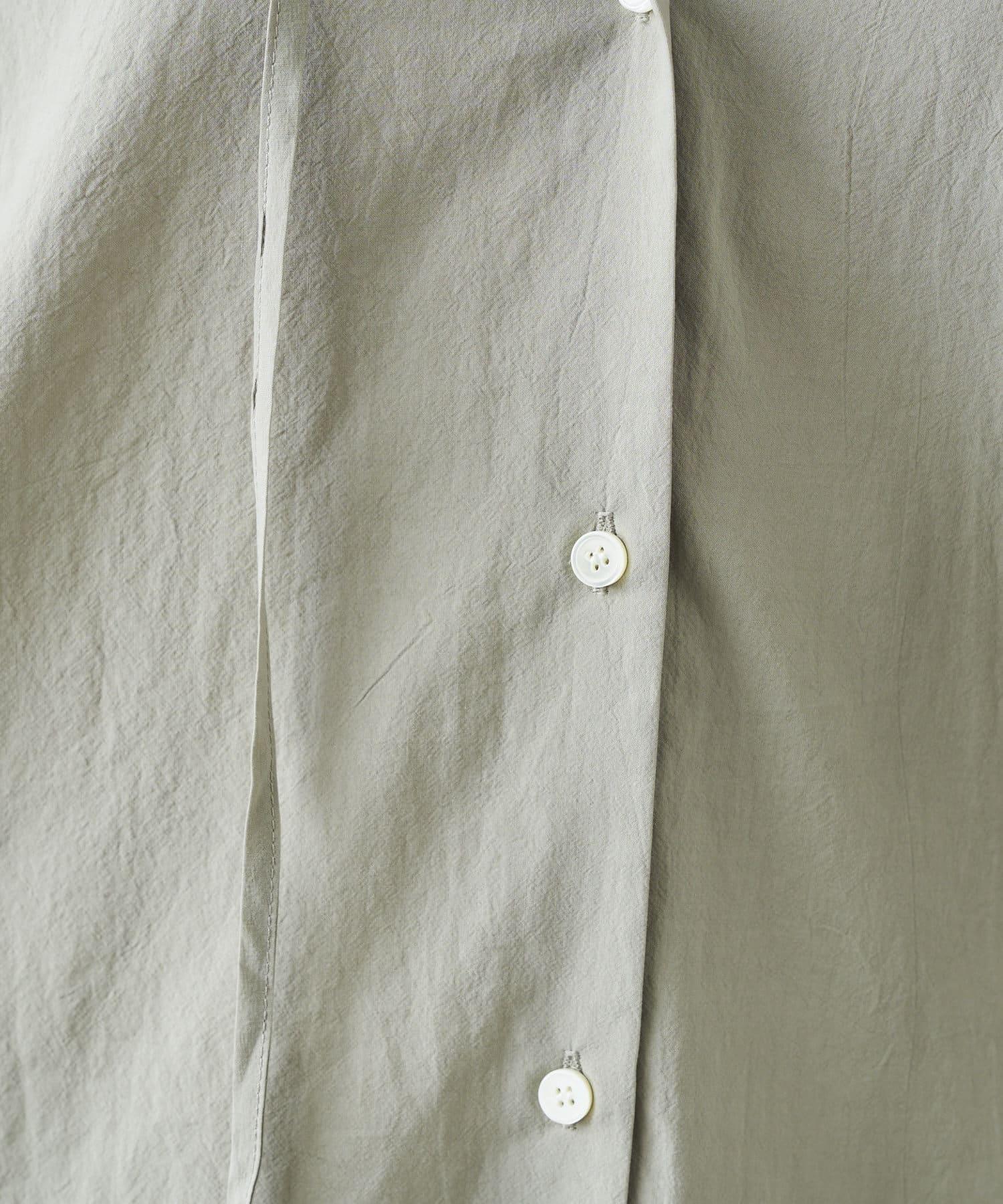DOUDOU(ドゥドゥ) スキッパ―チュニックシャツ