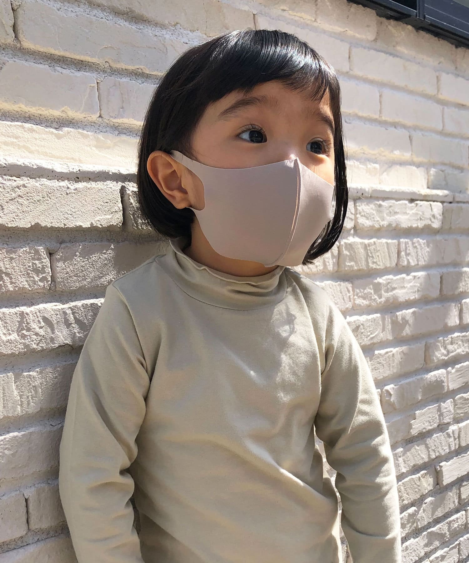 Lattice(ラティス) レディース 《ニュアンスカラー冷感抗菌マスク》4枚SET(子供用サイズ) その他