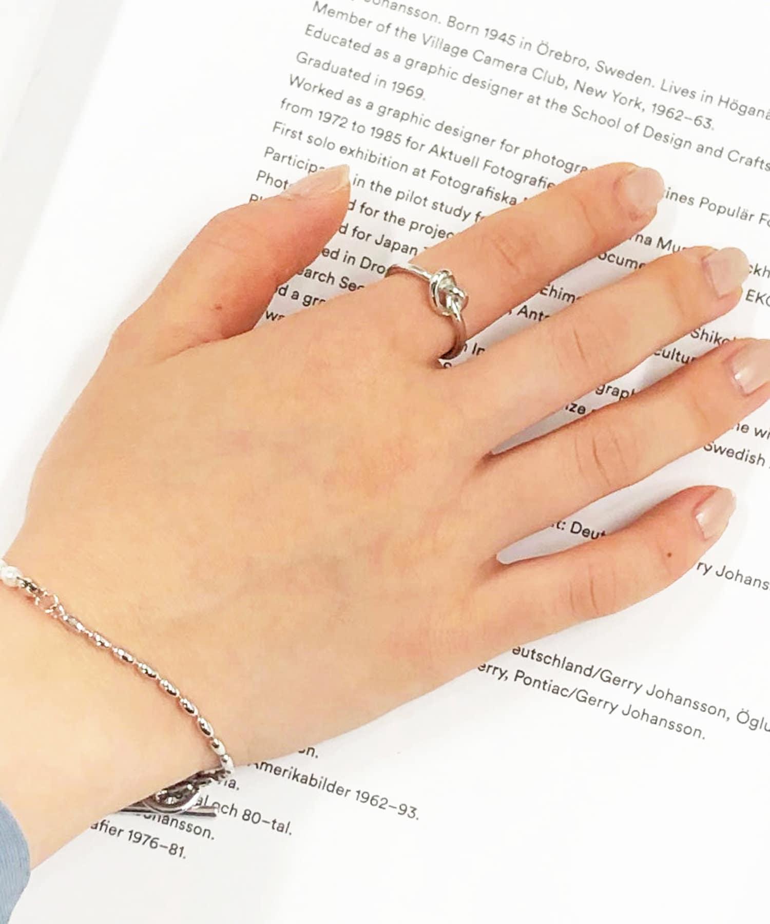 Lattice(ラティス) レディース 【WEB限定】デザインメタルリング シルバー