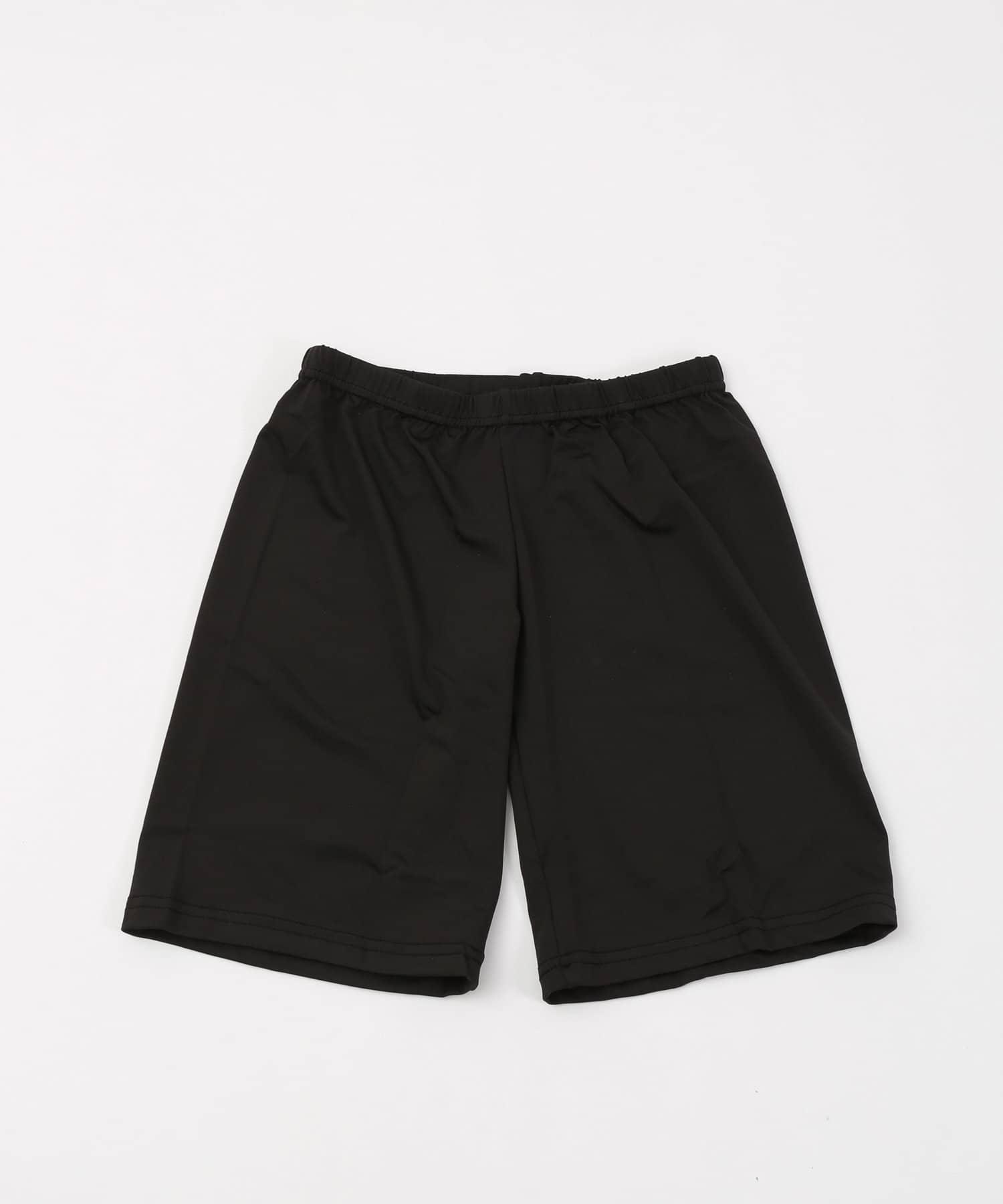 3COINS(スリーコインズ) 3COINS(スリーコインズ) 吸水速乾3分丈パンツ【Lサイズ】 ブラック