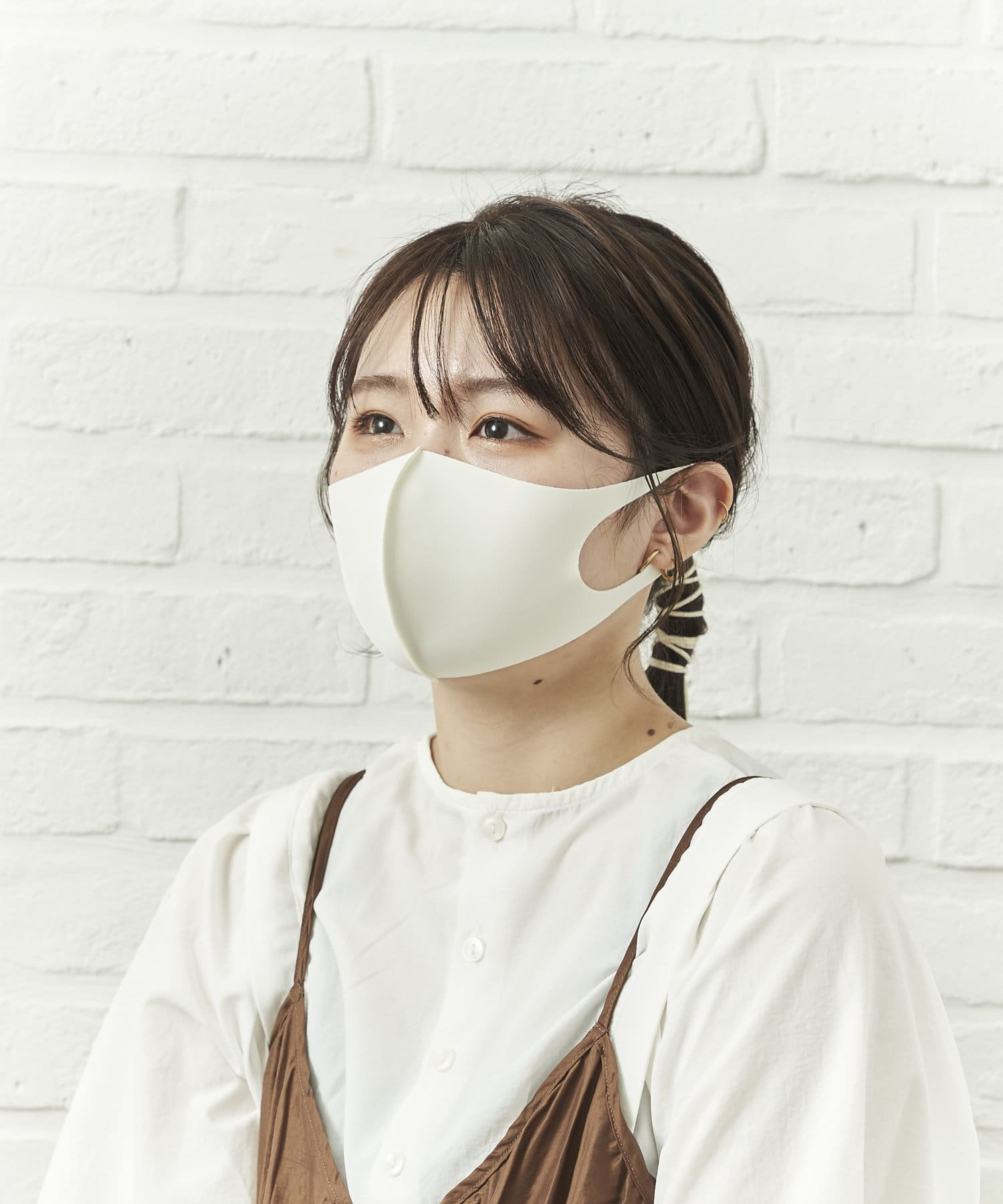 salut!(サリュ) レディース 冷感洗えるマスク4枚入り(大人用小さめサイズ) その他