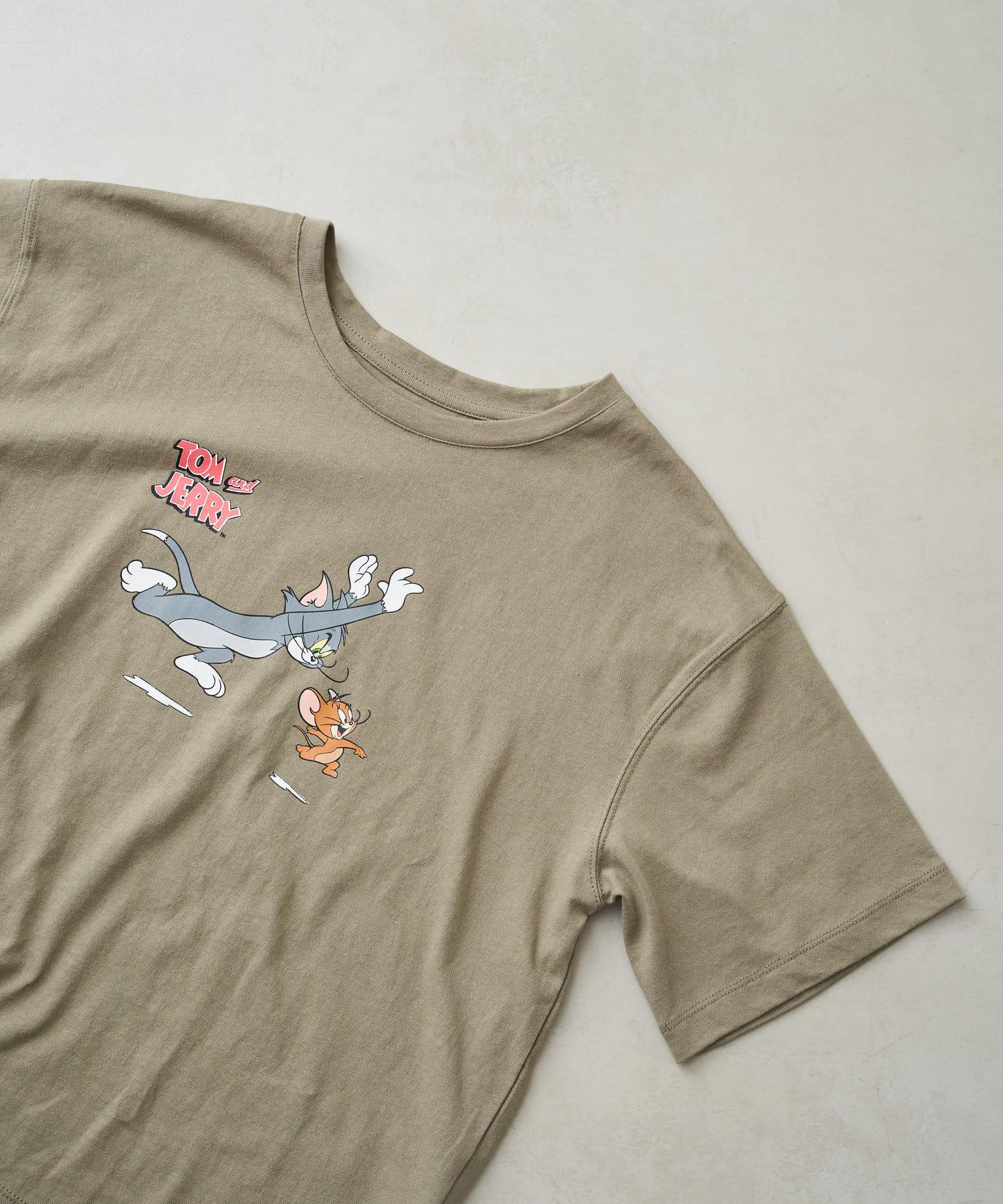 Chez toi(シェトワ) 【WEB限定】トム&ジェリー Tシャツ