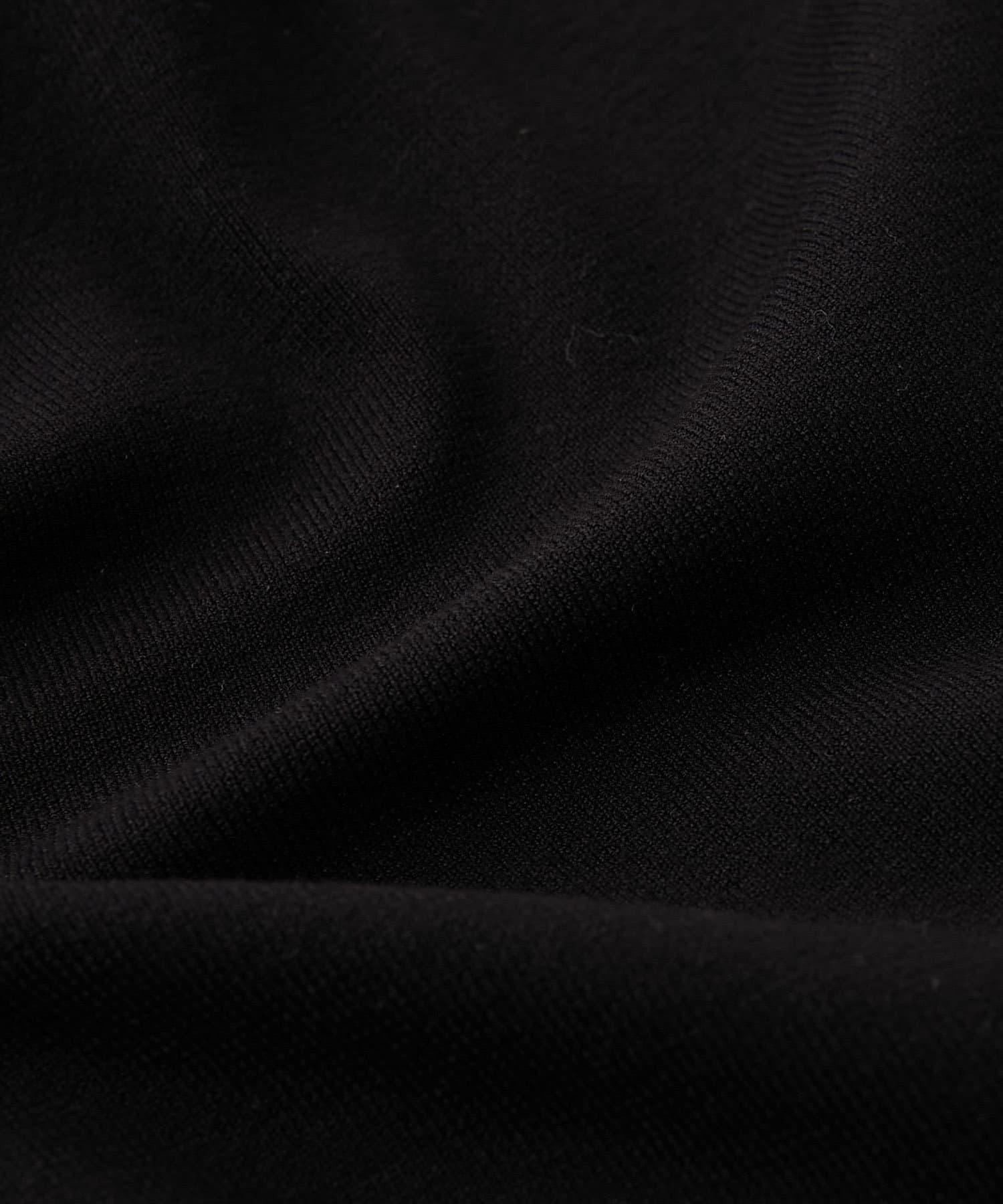 OUTLET premium(アウトレット プレミアム) 【《アクセサリーのような華やかさ》手洗い可】パールバー付ドルマンニット