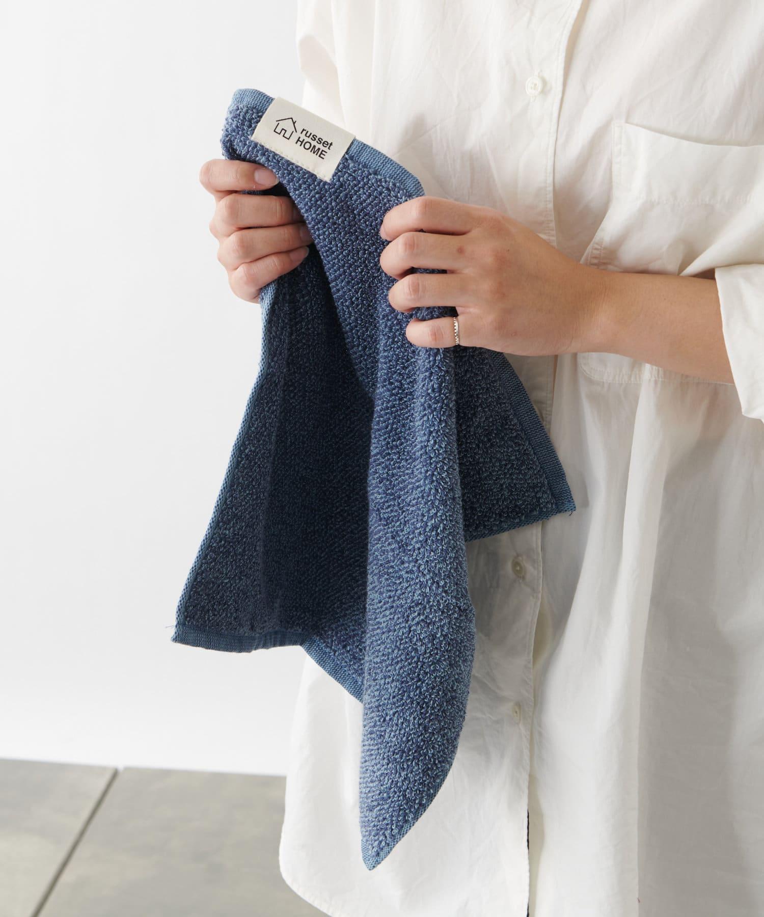 【cocochiena】巾着付きハンドタオル(N-001)