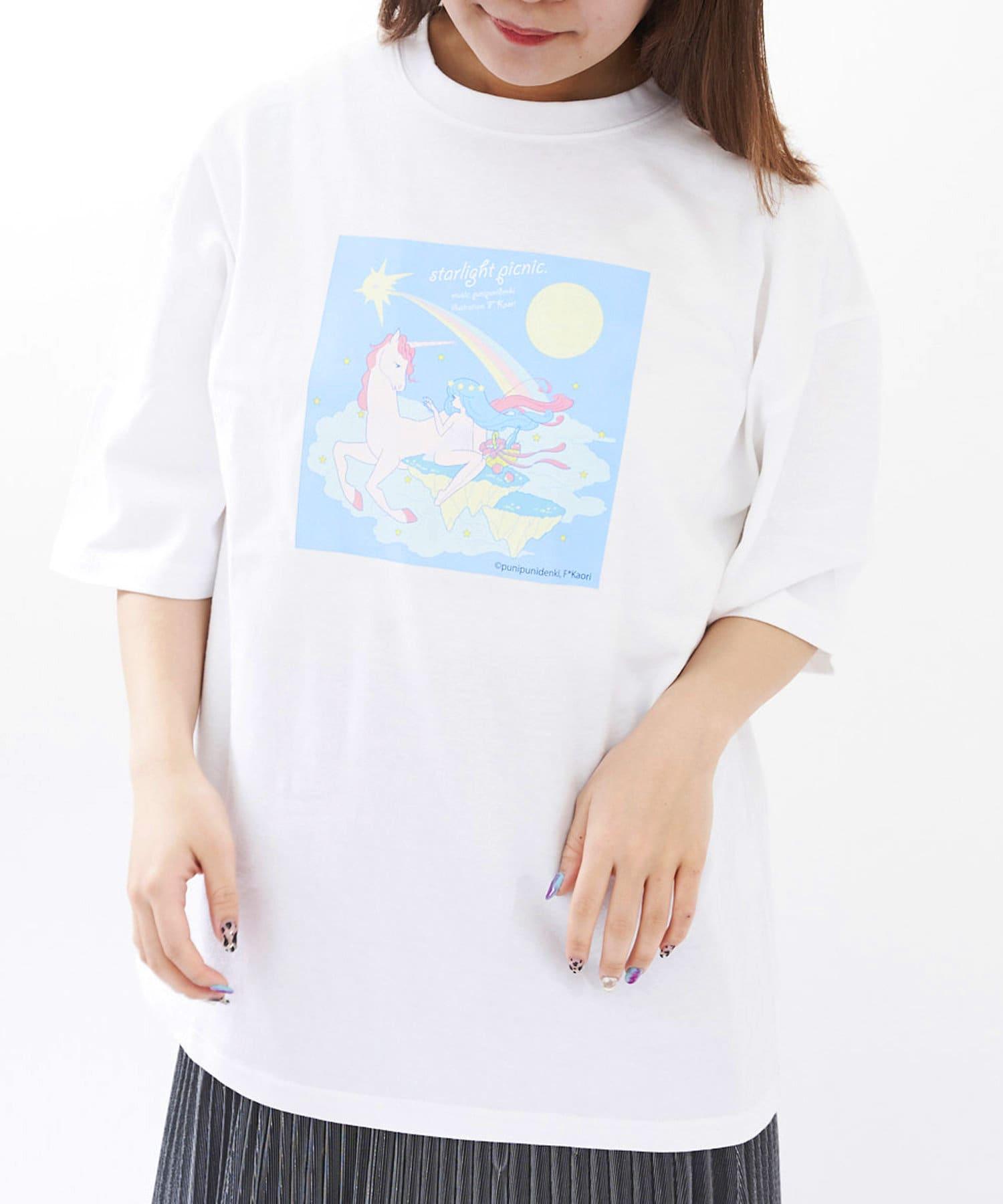 3COINS(スリーコインズ) ライフスタイル 【JUKEBOX PROJECT】AWATシャツ その他4