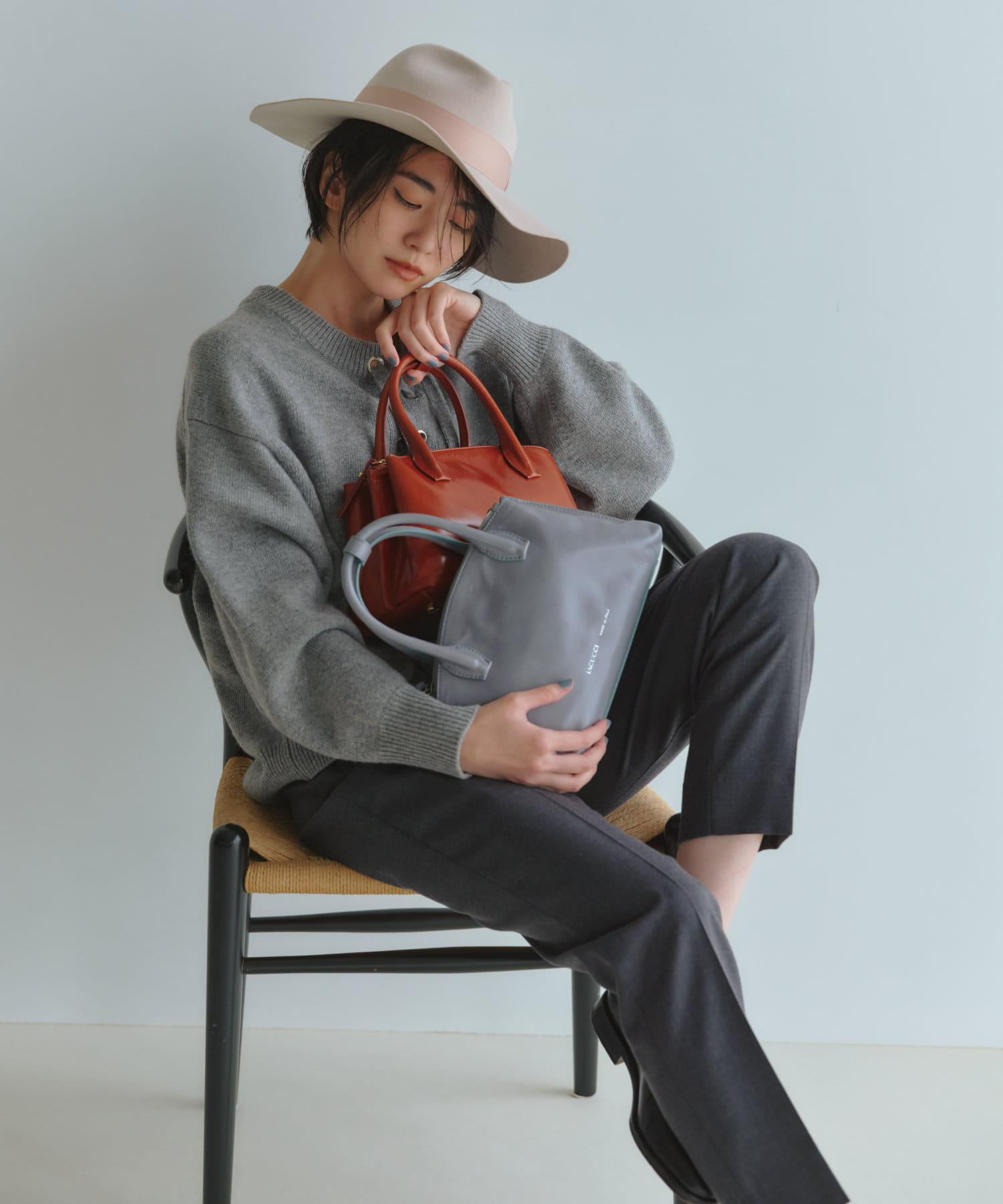 IACUCCI(イアクッチ) 2WAYトートバッグS【VELAR-2010/ATHENE】