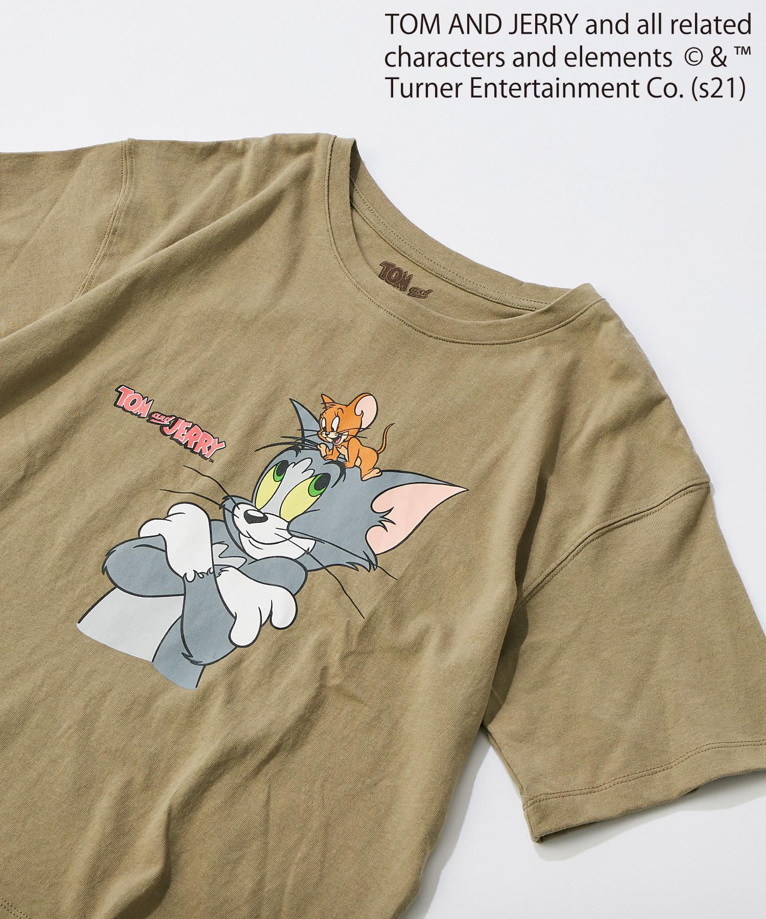 un dix cors(アンディコール) ここでしか手に入らない!【WEB限定・洗える】トム&ジェリー半袖Tシャツ