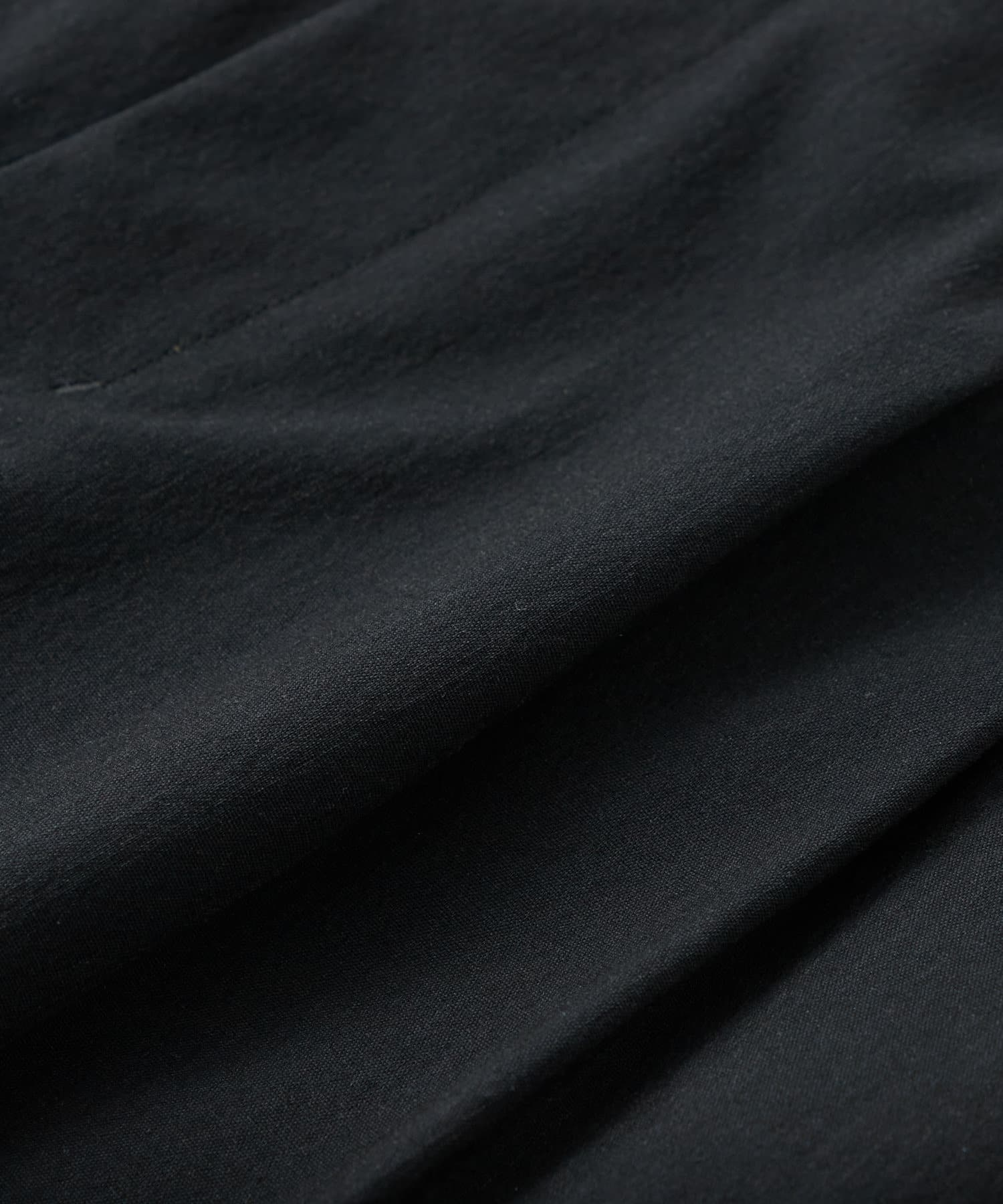 La boutique BonBon(ラブティックボンボン) 【手洗い可】レーヨン麻ストレッチインスリットパンツ