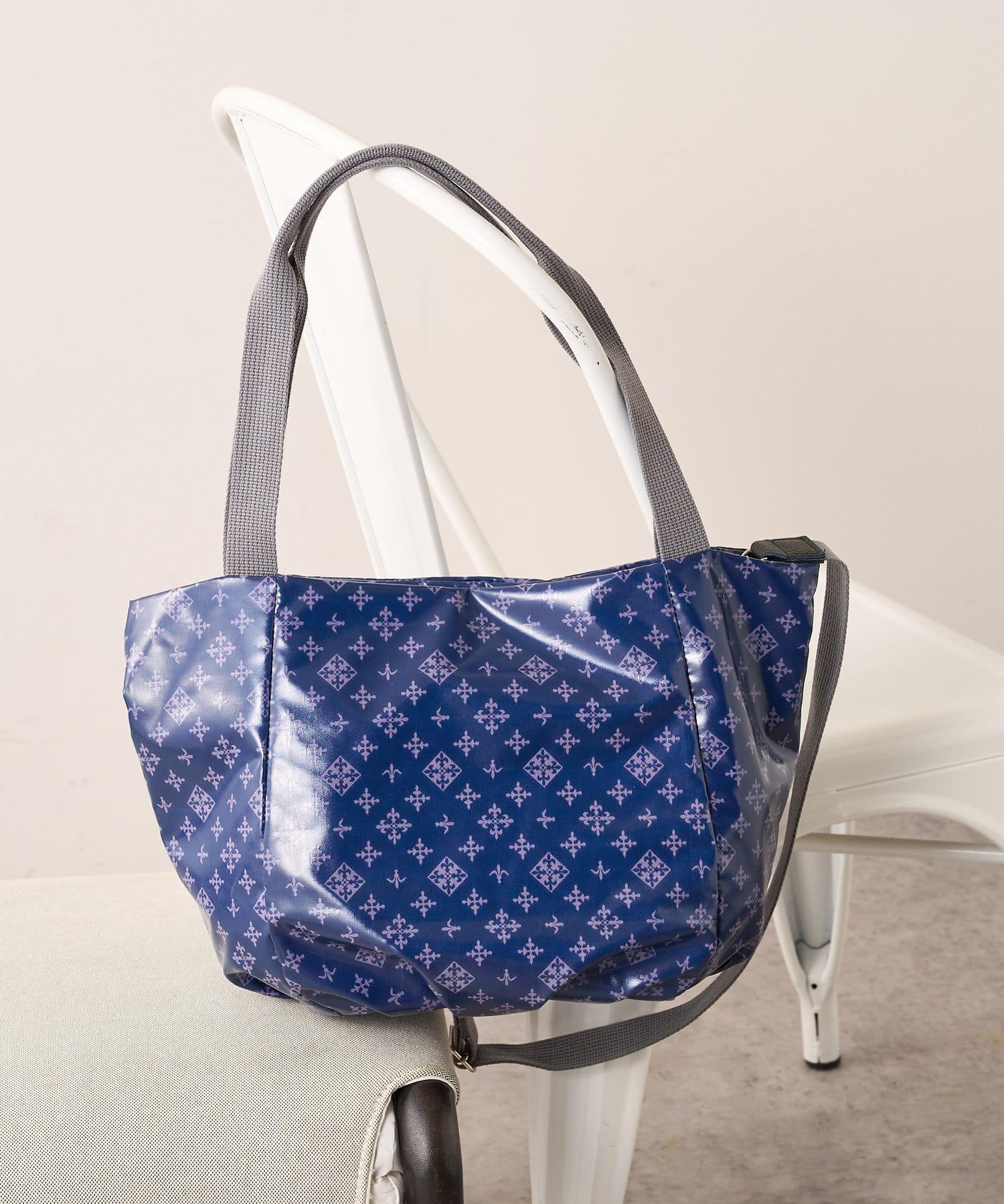 Daily russet(デイリー ラシット) 【撥水&制菌防臭】パルクロ限定 つるつる2wayトートバッグ