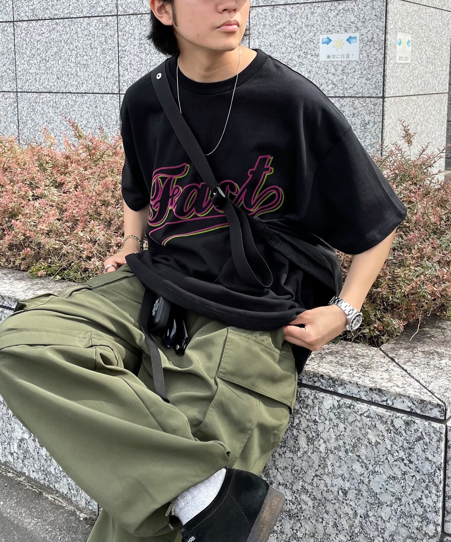 WHO'S WHO gallery(フーズフーギャラリー) COOPER FACTフロッキーTEE