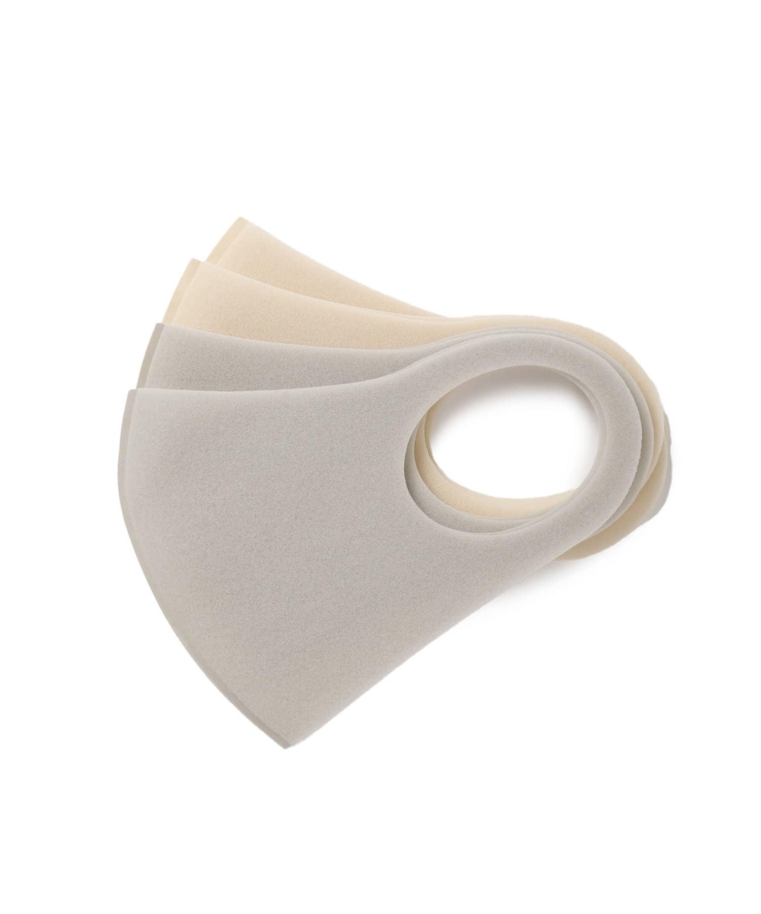 Lattice(ラティス) Lattice(ラティス) 《ニュアンスカラー立体ウレタンマスク 》4枚SET(大人用小さめ) ベージュ