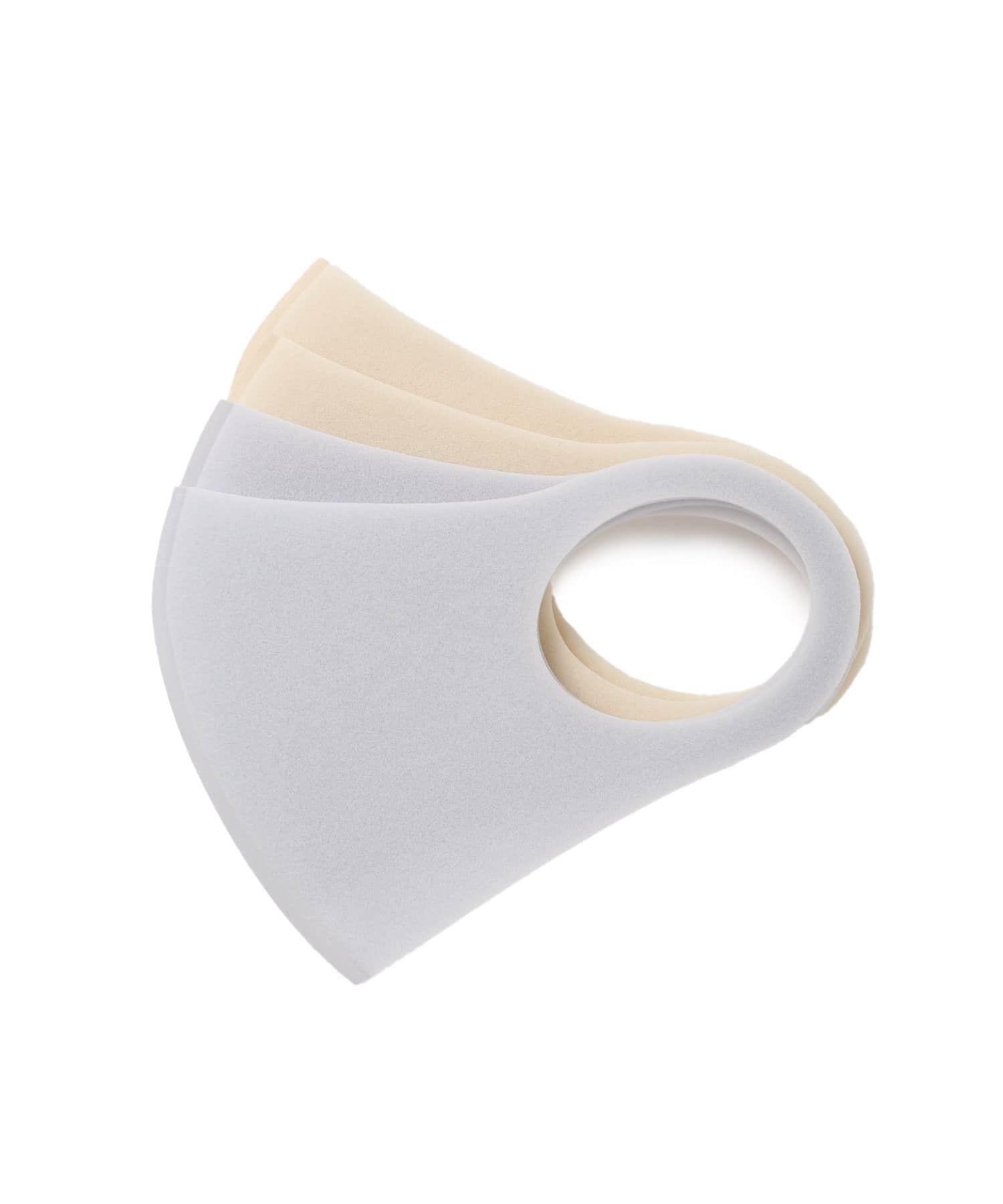 Lattice(ラティス) Lattice(ラティス) 《ニュアンスカラー立体ウレタンマスク 》4枚SET(大人用小さめ) ブルー