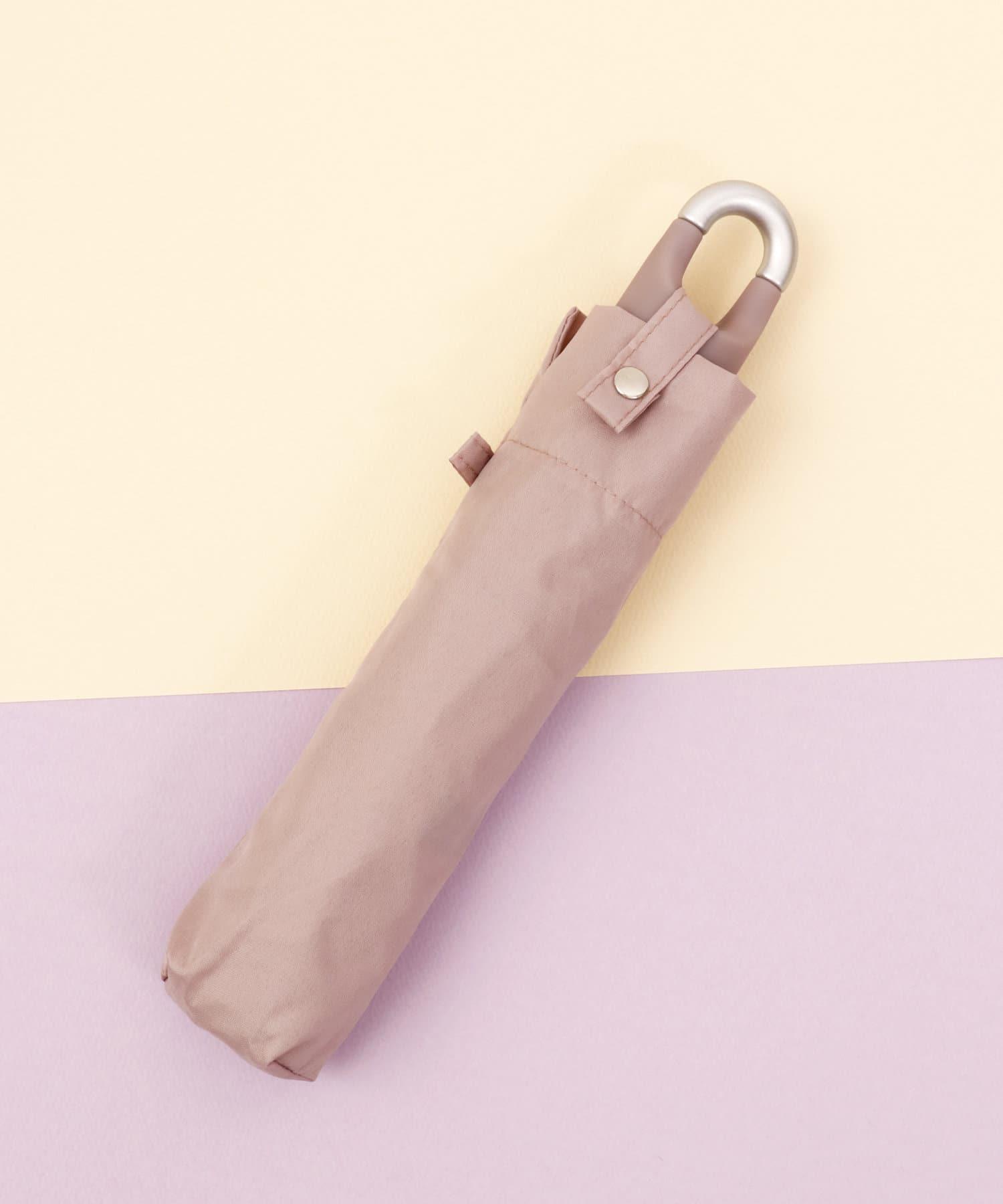 ASOKO(アソコ) レディース <カラビナ付き>くすみカラー折りたたみ傘 その他