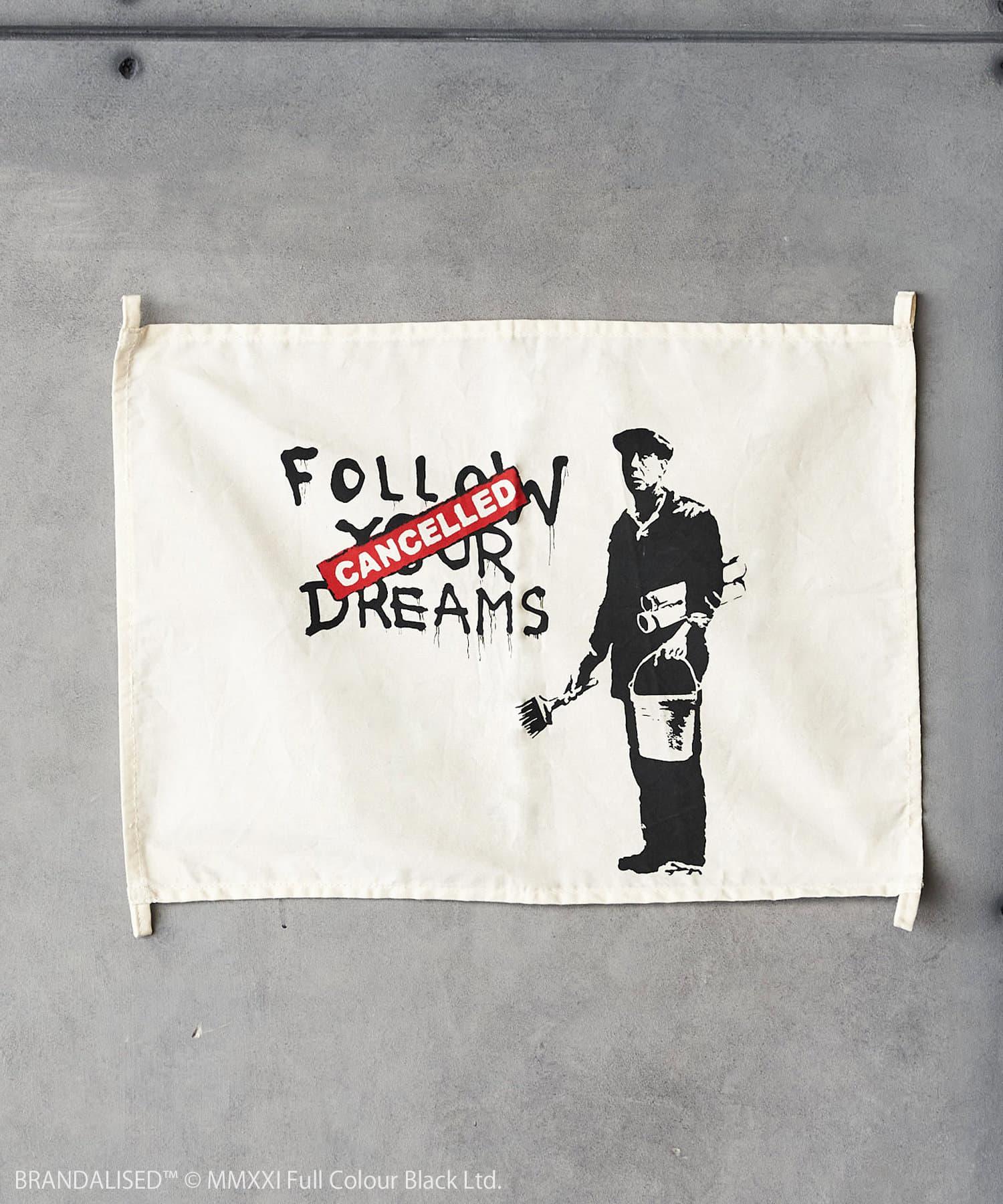 ASOKO(アソコ) ライフスタイル Banksy's Graffiti ファブリックポスター(M) その他1