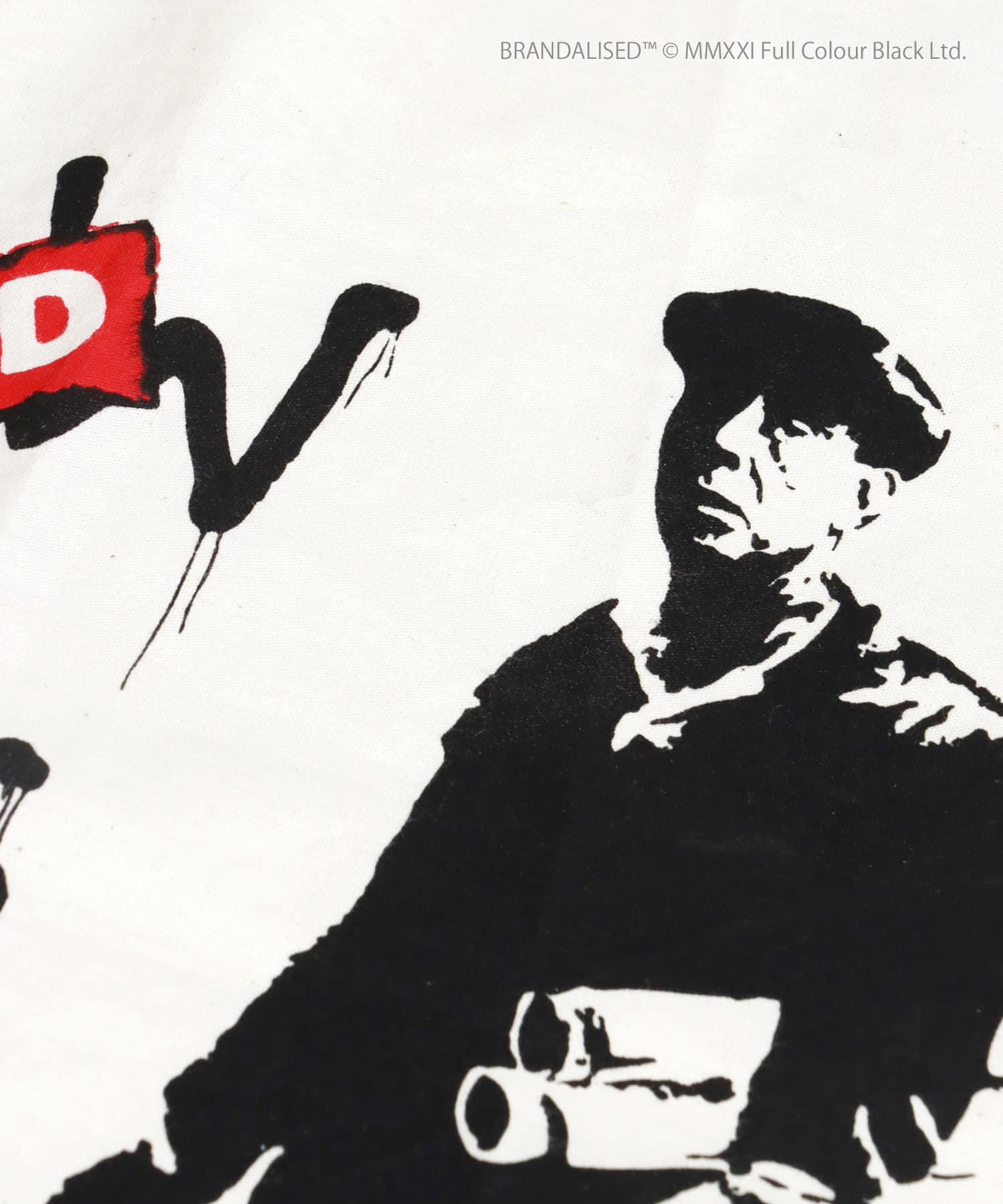 3COINS(スリーコインズ) 【ASOKO】Banksy's Graffiti ファブリックポスター(M)