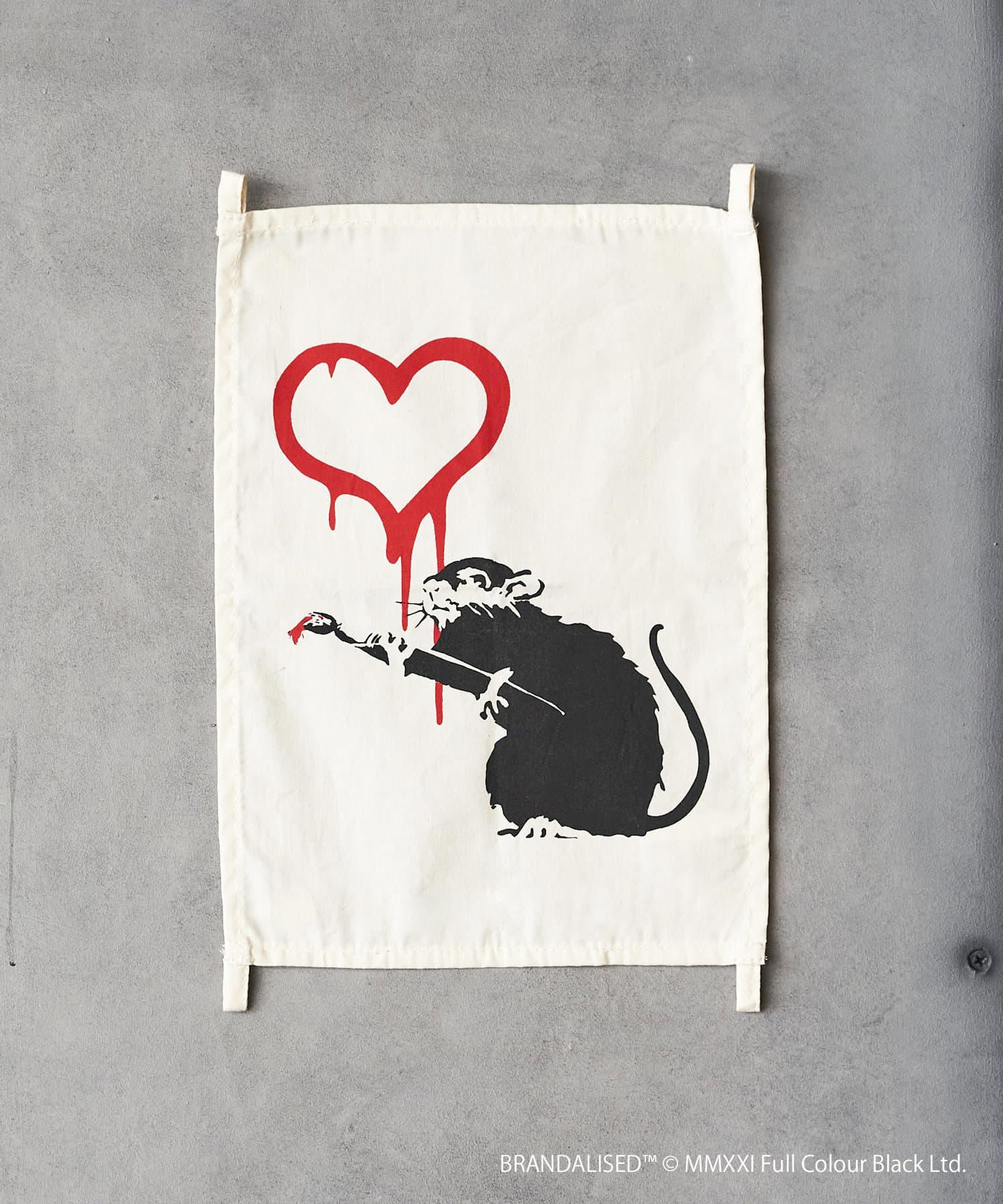 ASOKO(アソコ) ライフスタイル Banksy's Graffiti ファブリックポスター(S) その他