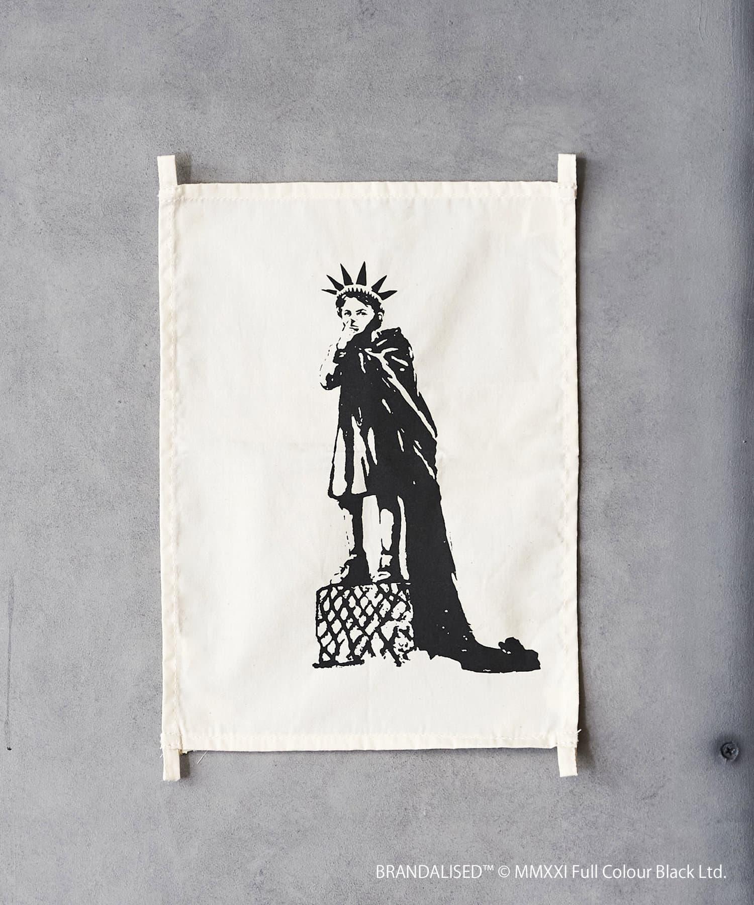 ASOKO(アソコ) ライフスタイル Banksy's Graffiti ファブリックポスター(S) その他1