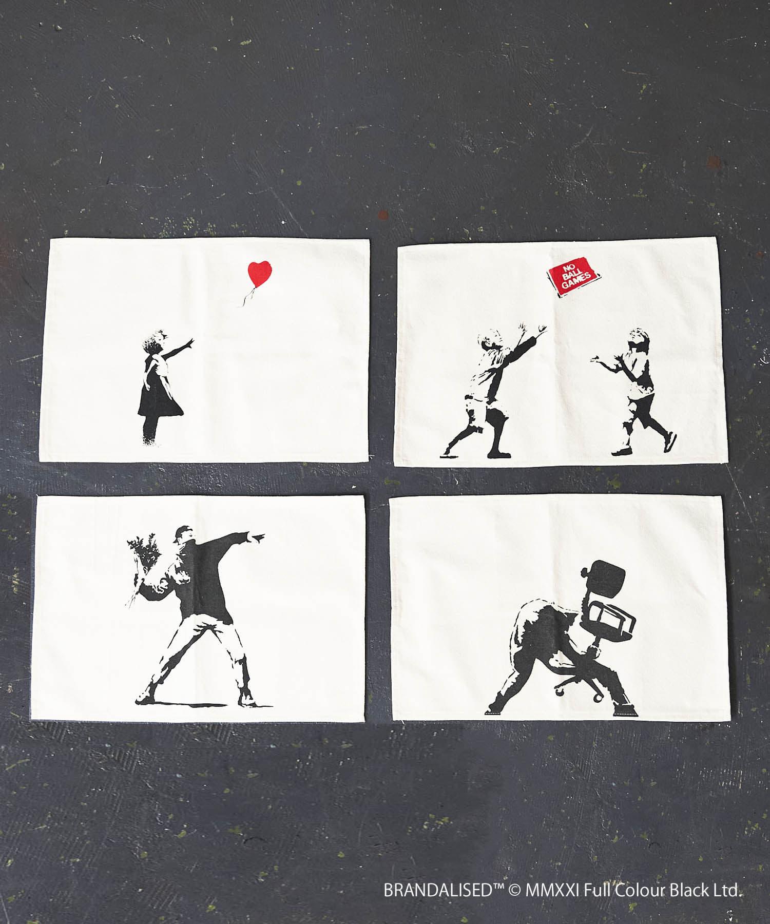ASOKO(アソコ) Banksy's Graffiti ランチョンマット4枚セット