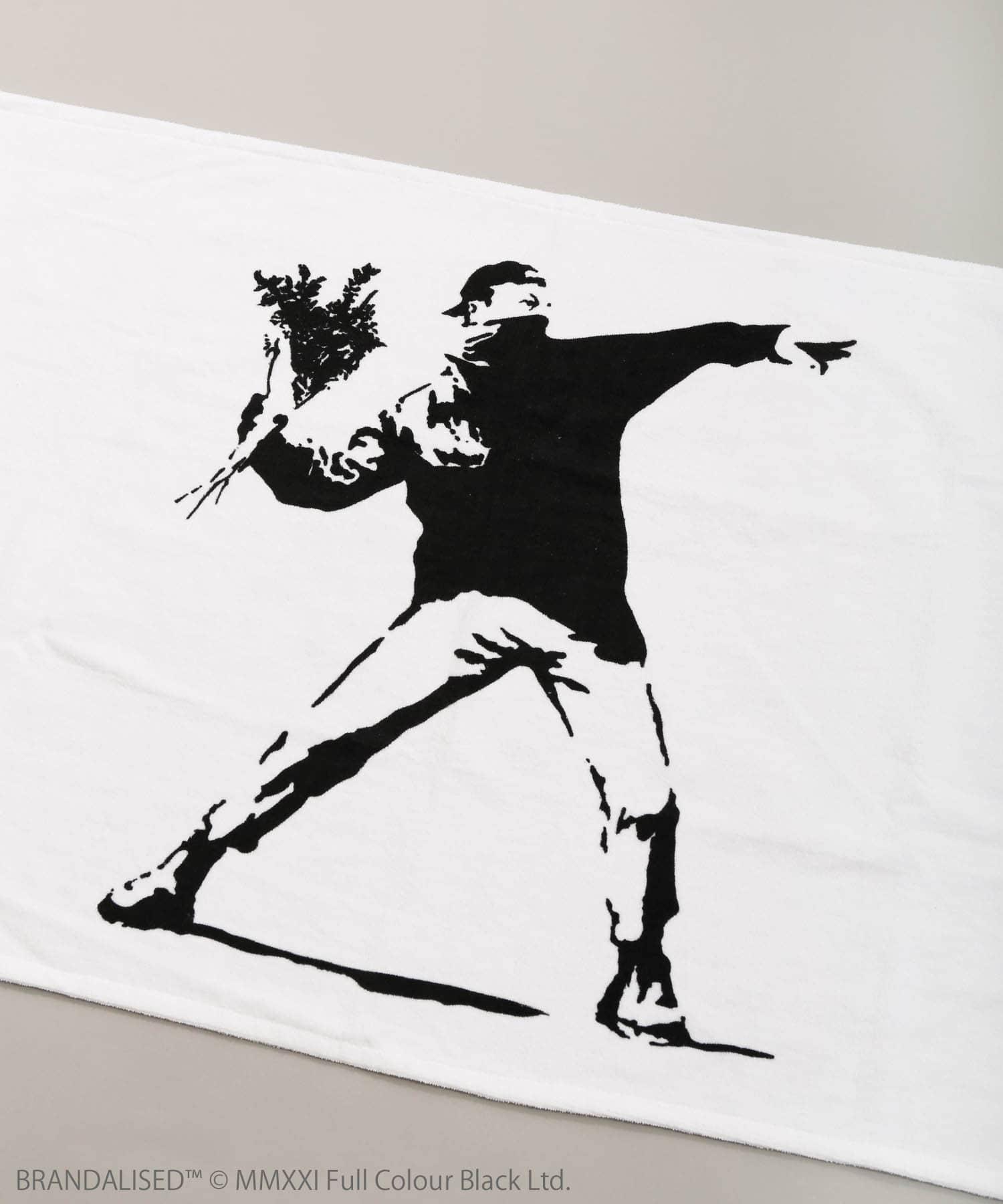 ASOKO(アソコ) Banksy's Graffiti バスタオル
