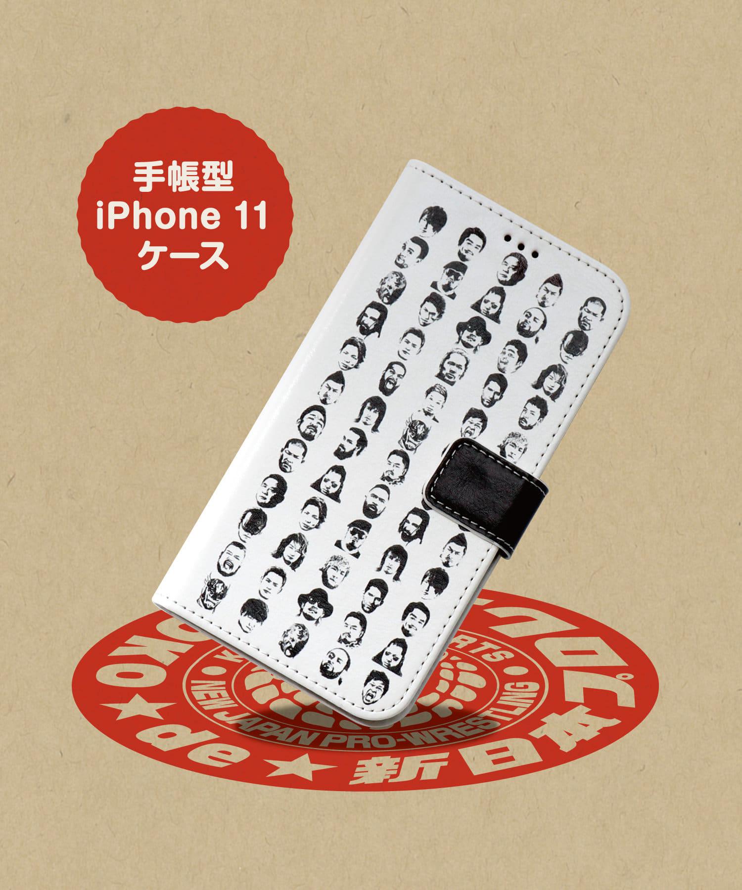 ASOKO(アソコ) ライフスタイル 【ASOKO de 新日本プロレス】手帳型iPhone11ケース その他