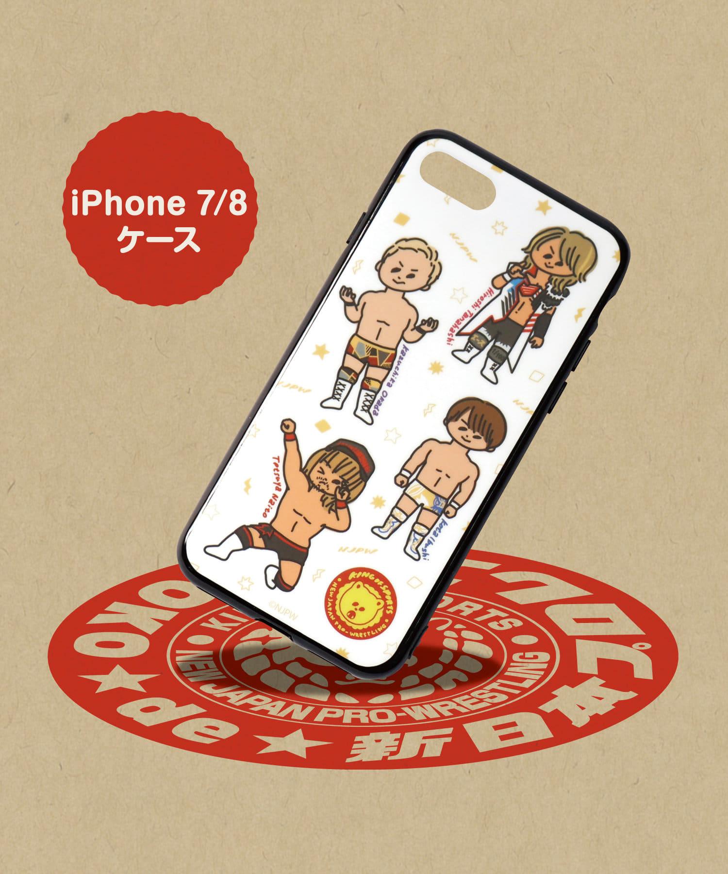 ASOKO(アソコ) ライフスタイル 【ASOKO de 新日本プロレス】iPhone7・8ケース その他