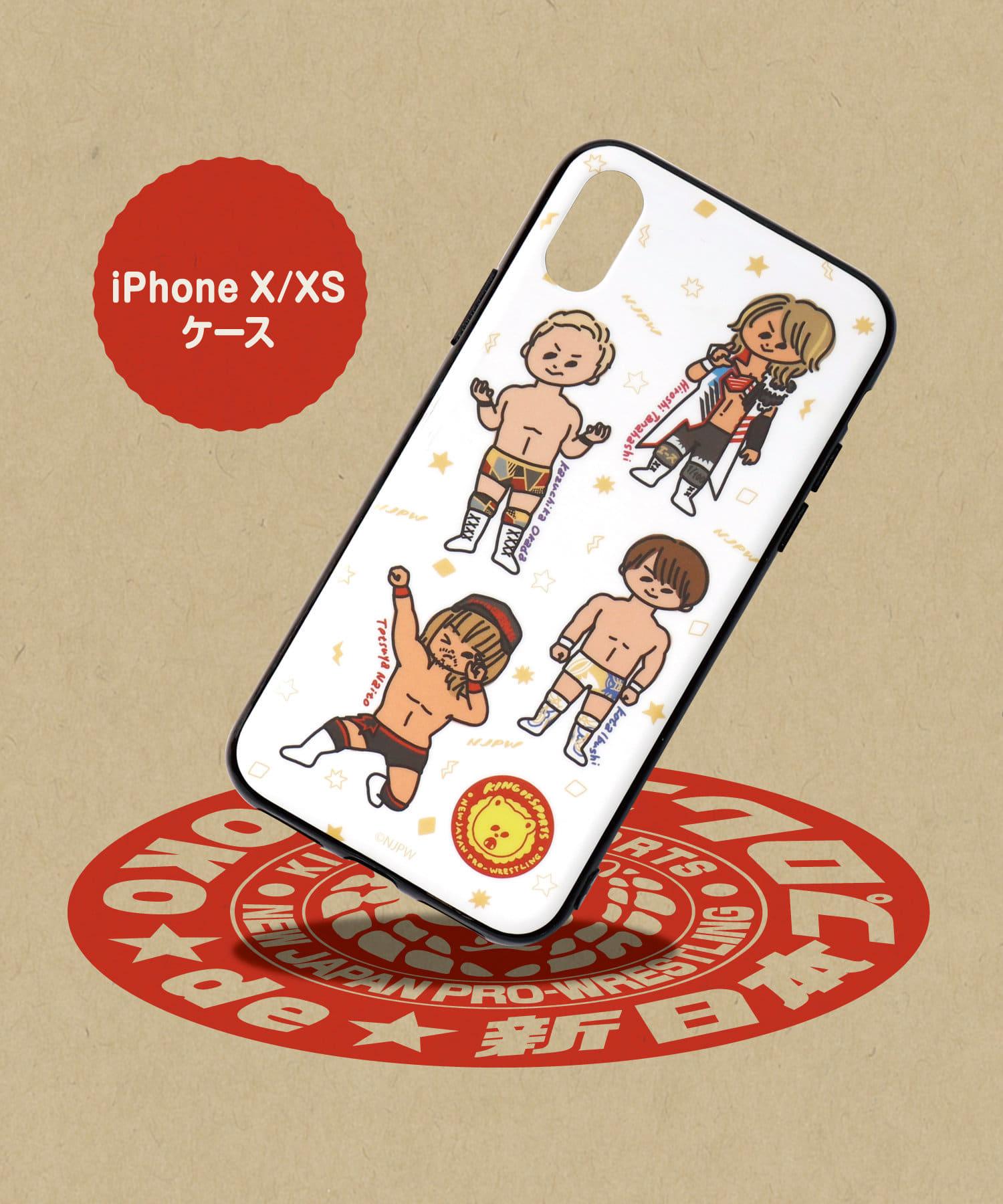 ASOKO(アソコ) ライフスタイル 【ASOKO de 新日本プロレス】iPhoneX・XSケース その他