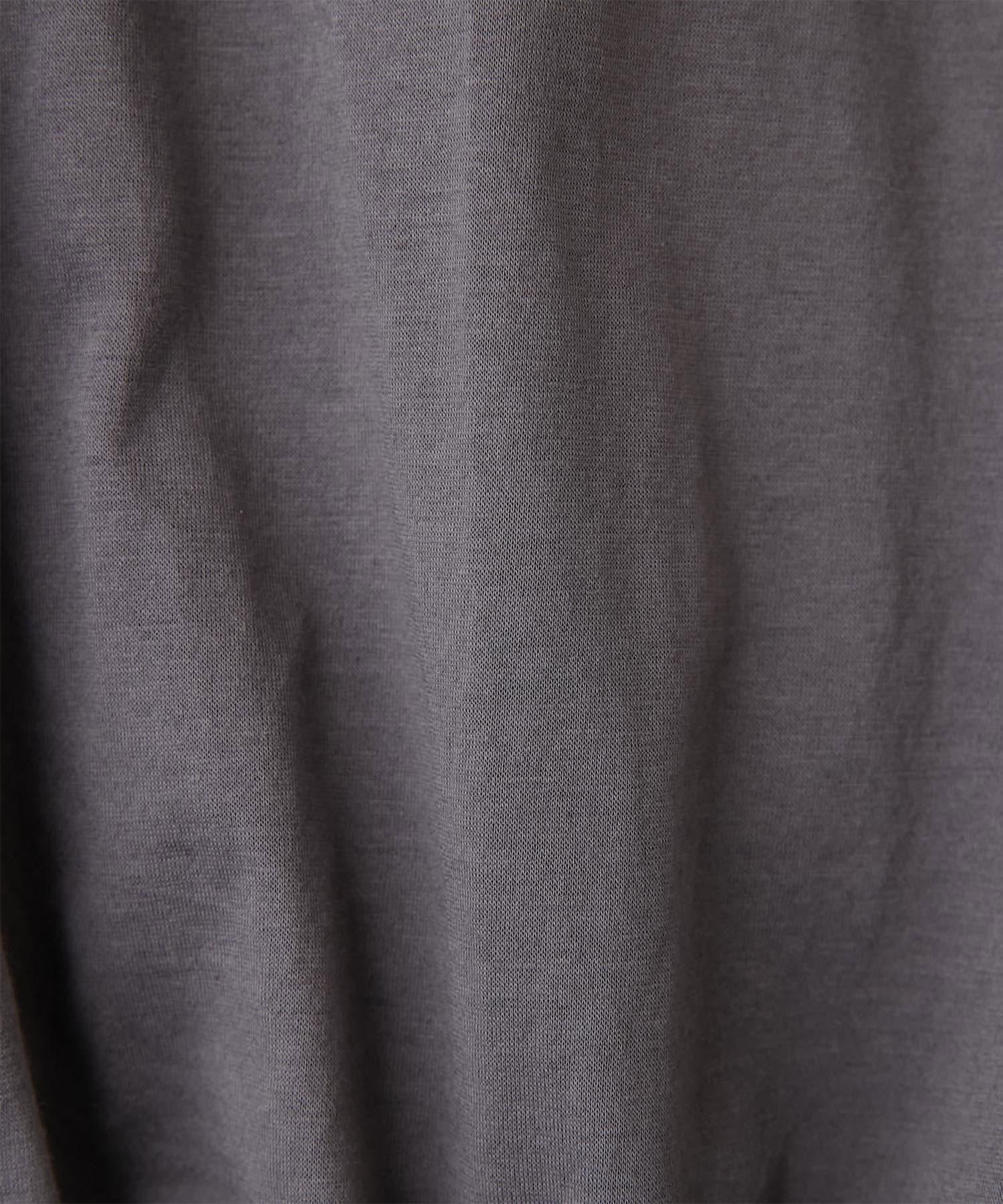 GALLARDAGALANTE(ガリャルダガランテ) フロントギャザーノースリカットソー【オンラインストア限定商品】