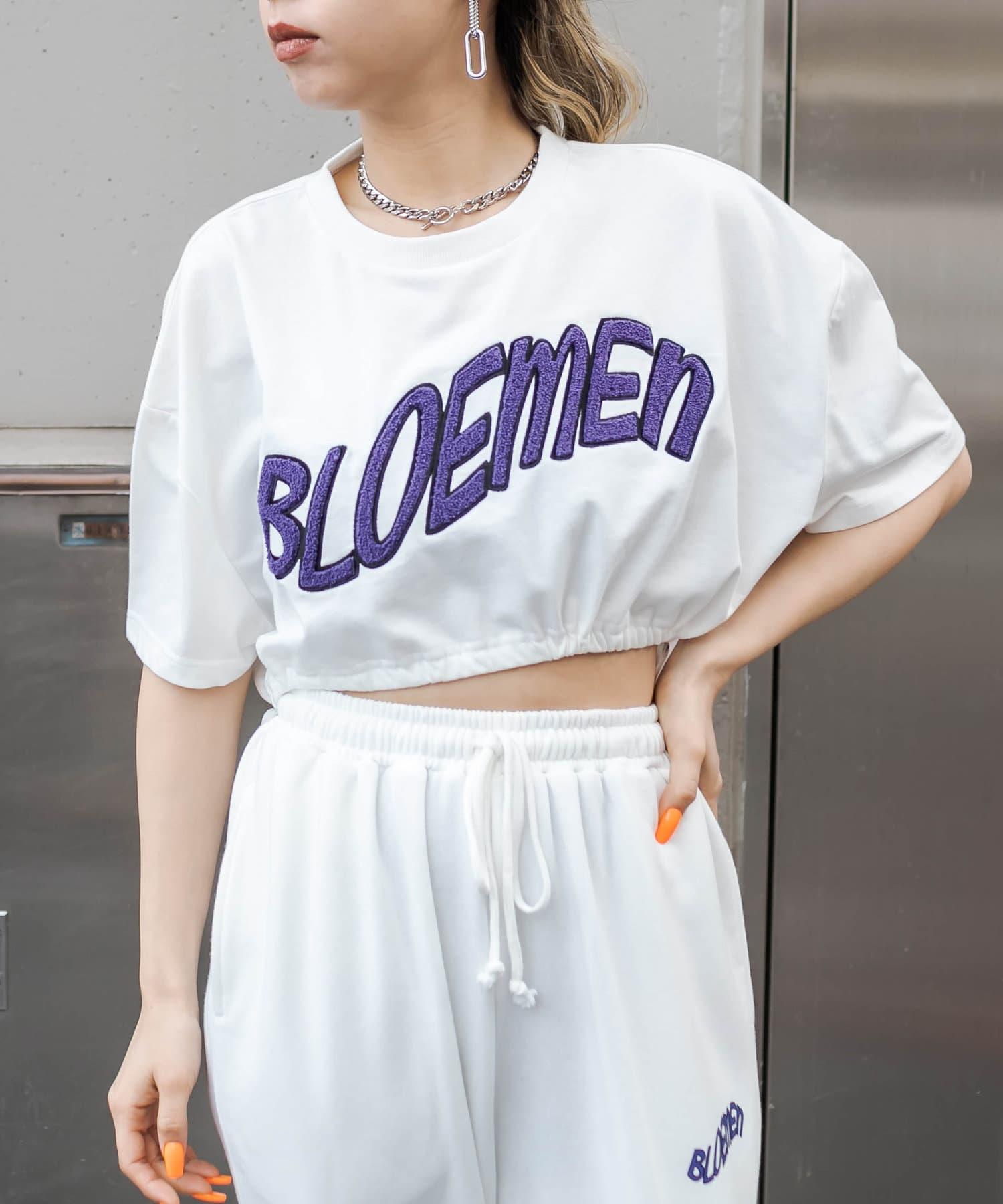 RASVOA(ラスボア) BLOEMENクロップドサガラTシャツ