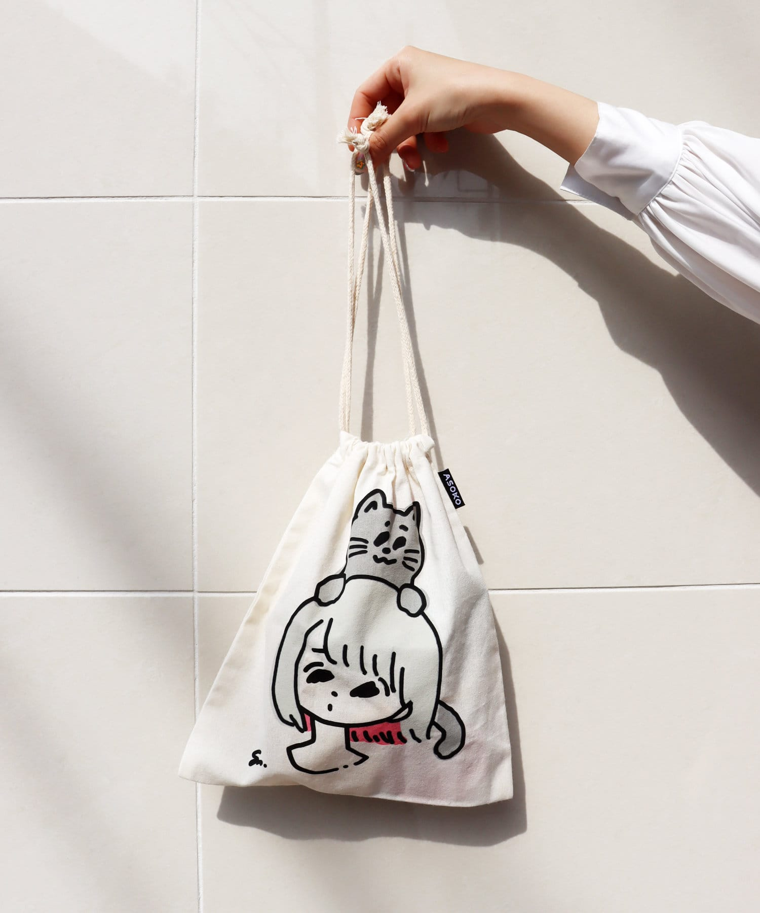 ASOKO(アソコ) 【ASOKO de ART】巾着