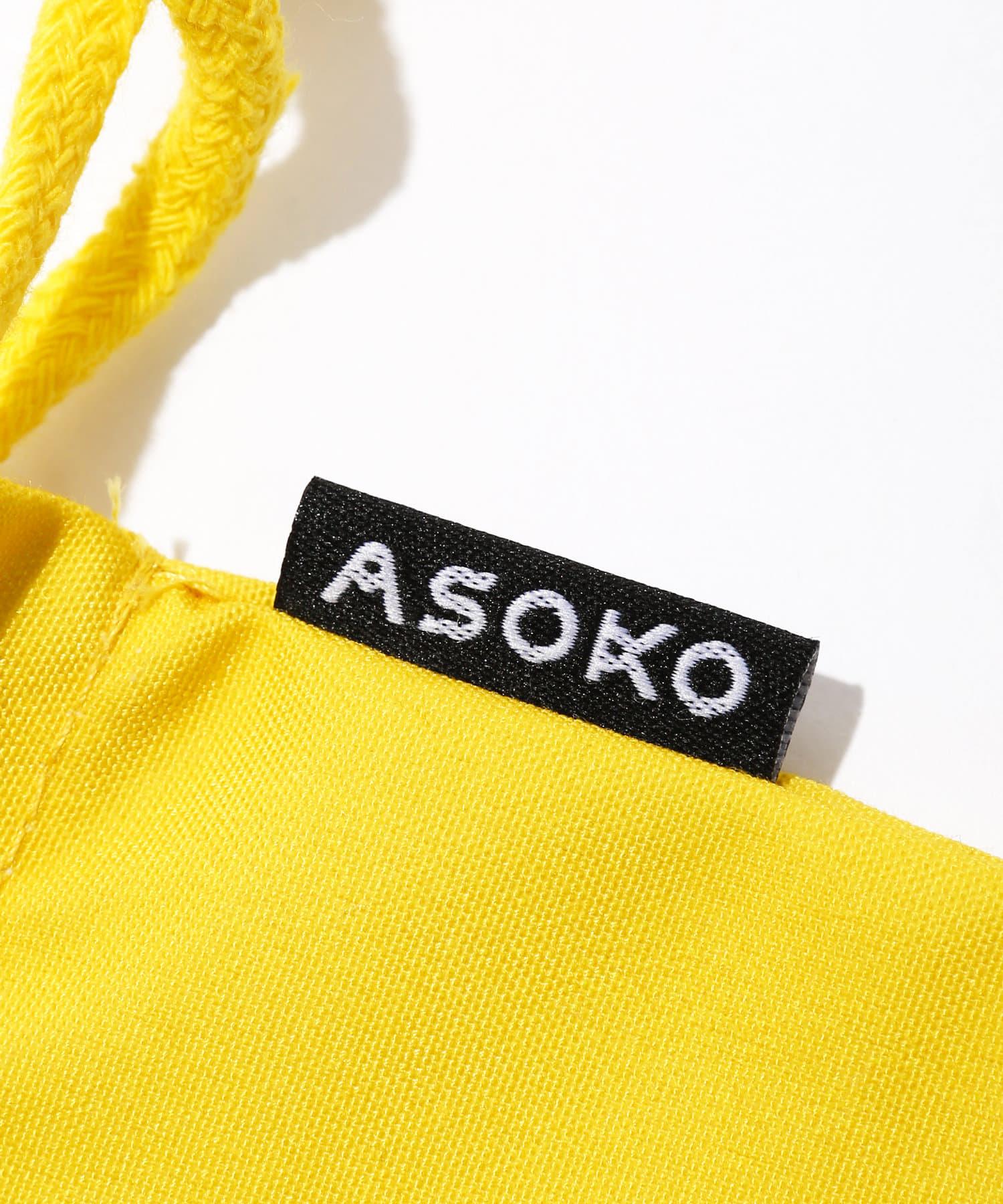 3COINS(スリーコインズ) 【ASOKO】【ASOKO de ART】巾着
