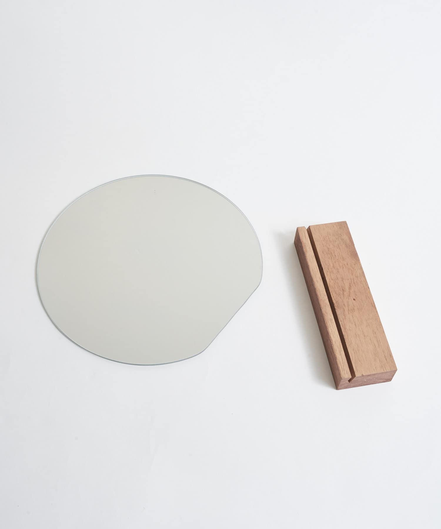Lattice(ラティス) 【韓国風インテリア】ラウンドスタンドミラー
